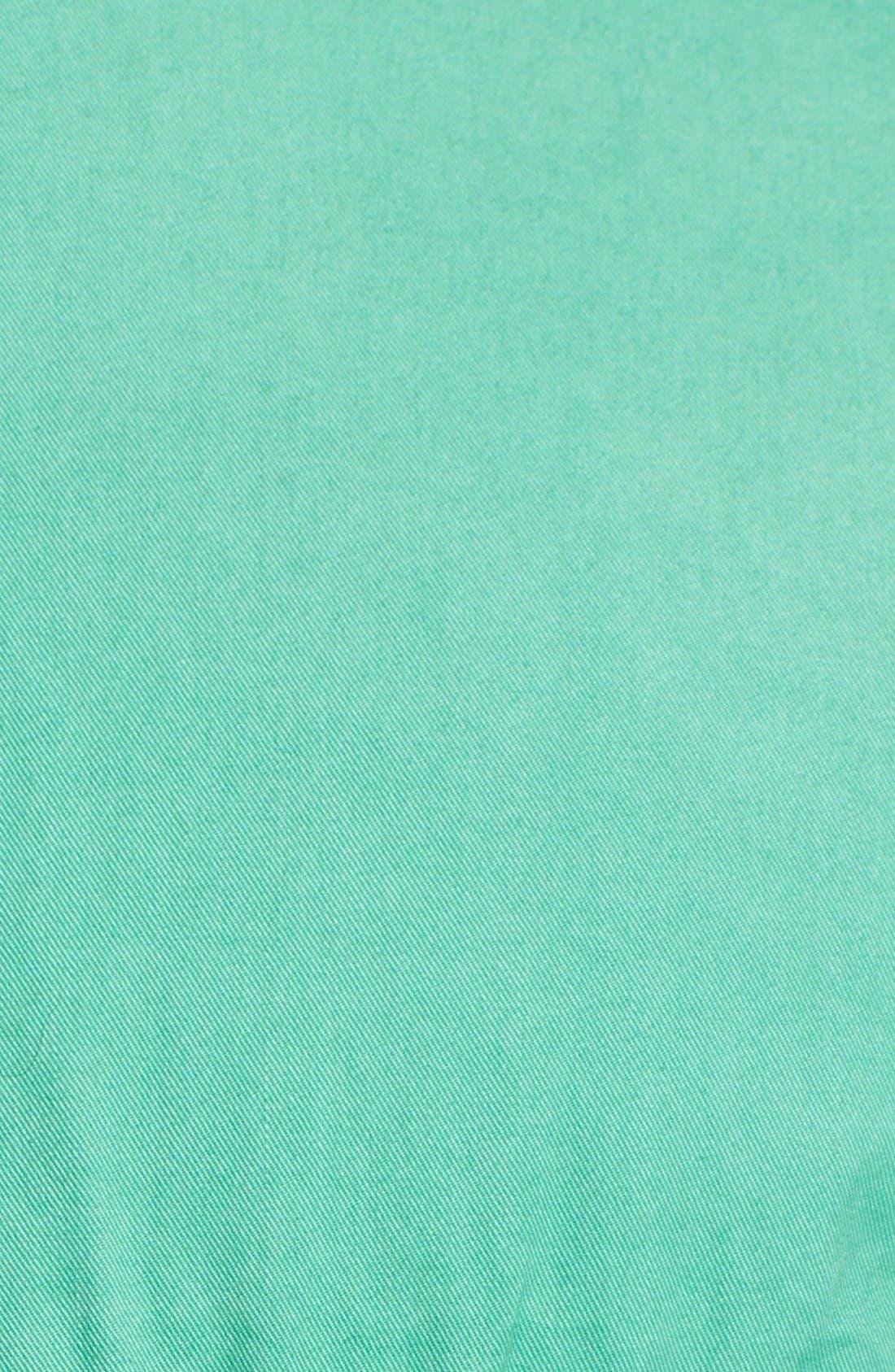 'Cotinga' Extra Trim Fit Band Collar Woven Shirt,                             Alternate thumbnail 2, color,                             300
