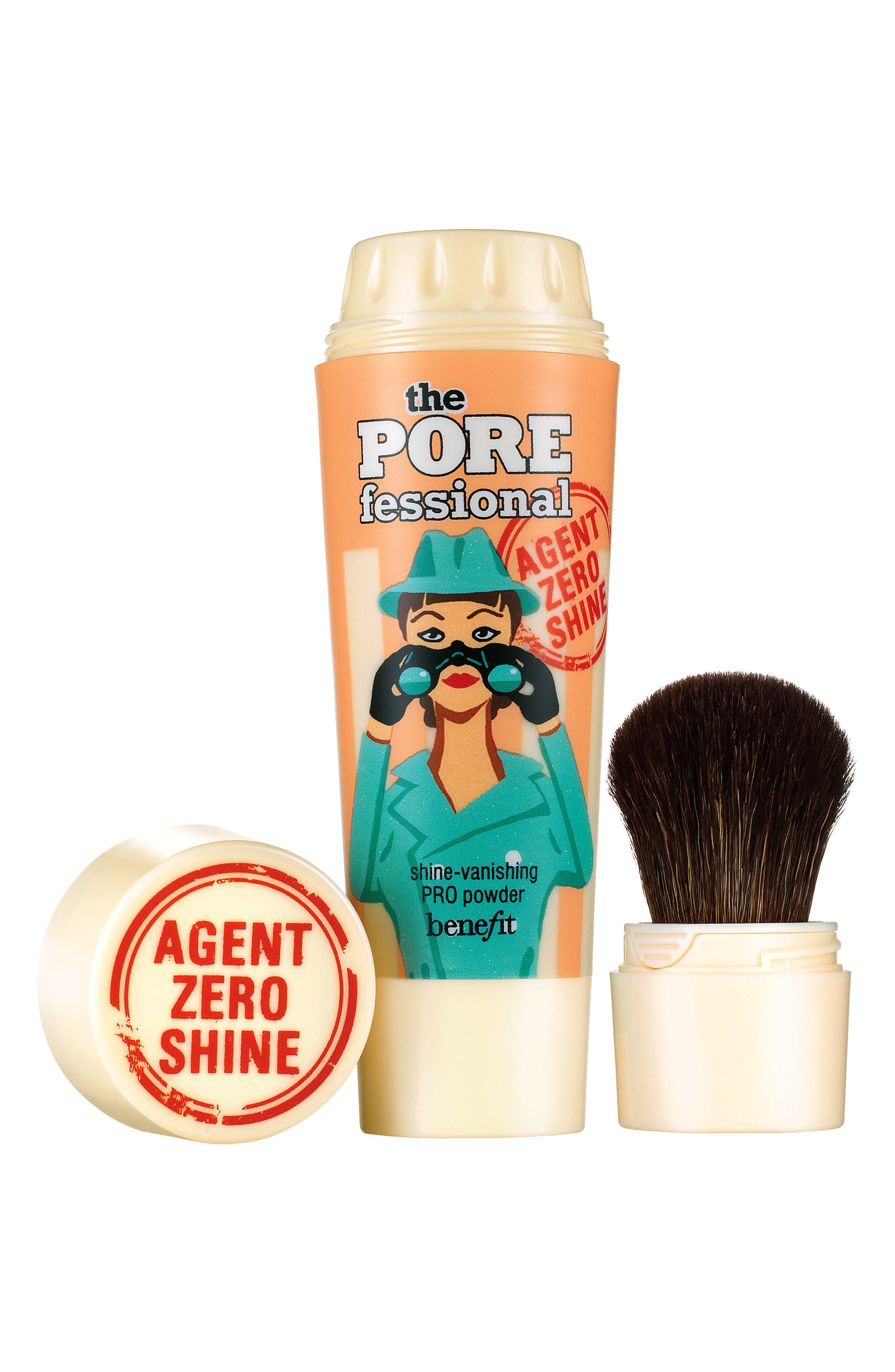 Benefit The POREfessional Agent Zero Shine Control Powder,                             Main thumbnail 1, color,                             NO COLOR