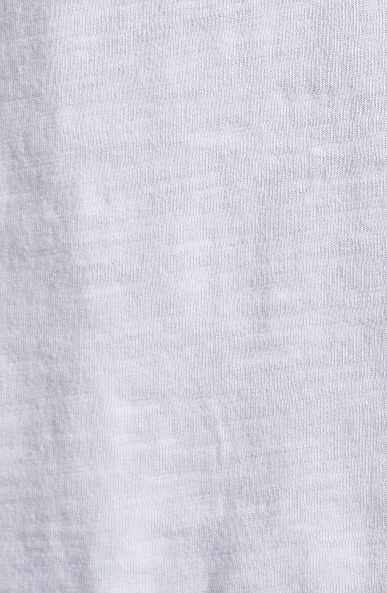 Pineapple Pocket T-Shirt,                             Alternate thumbnail 5, color,