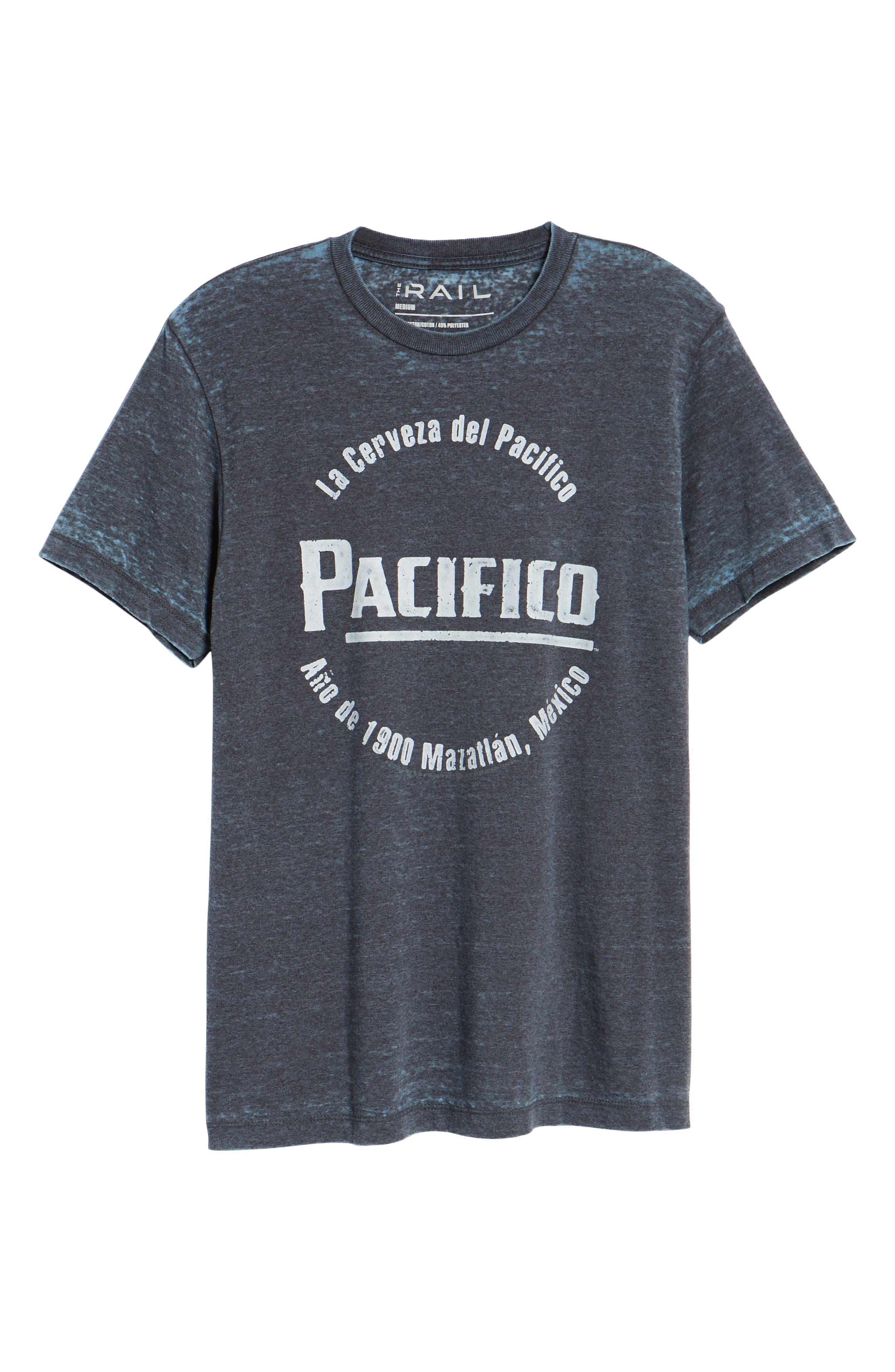 Pacifico Burnout T-Shirt,                             Alternate thumbnail 6, color,                             420