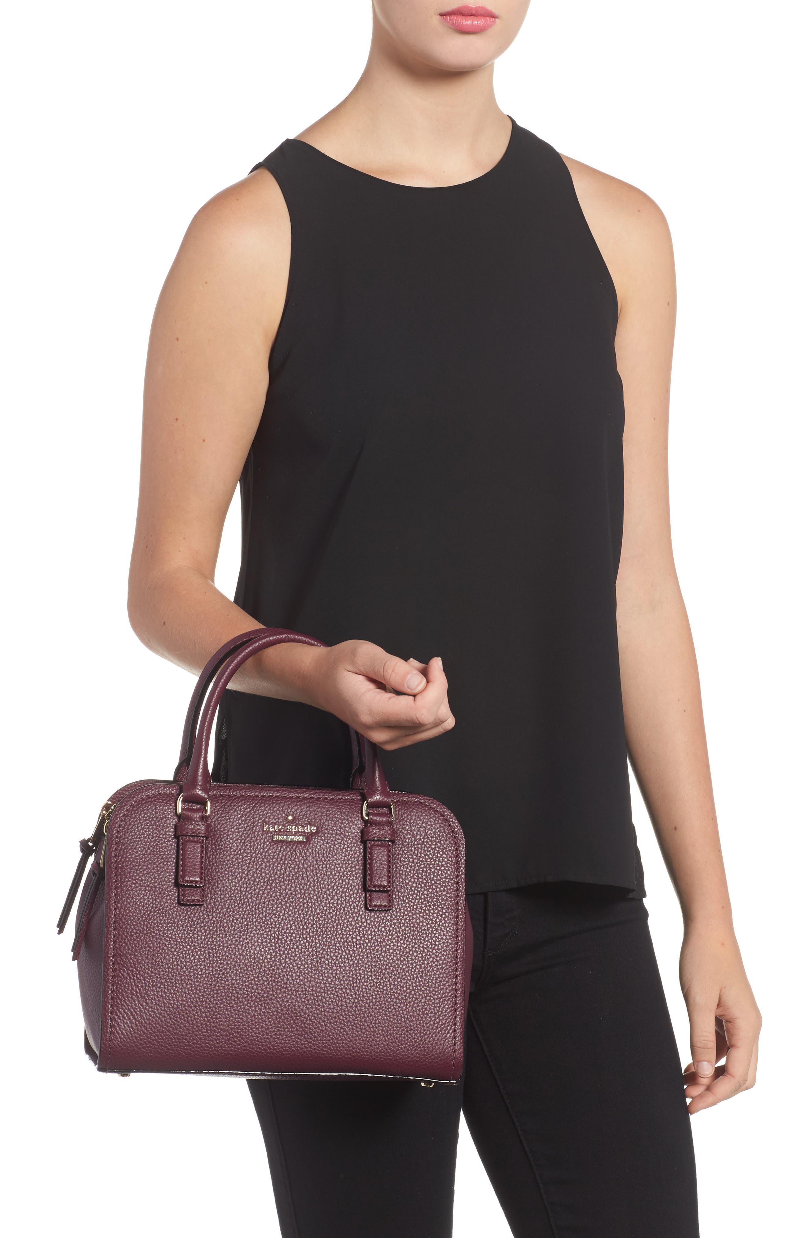 jackson street small kiernan leather top handle satchel,                             Alternate thumbnail 2, color,                             545