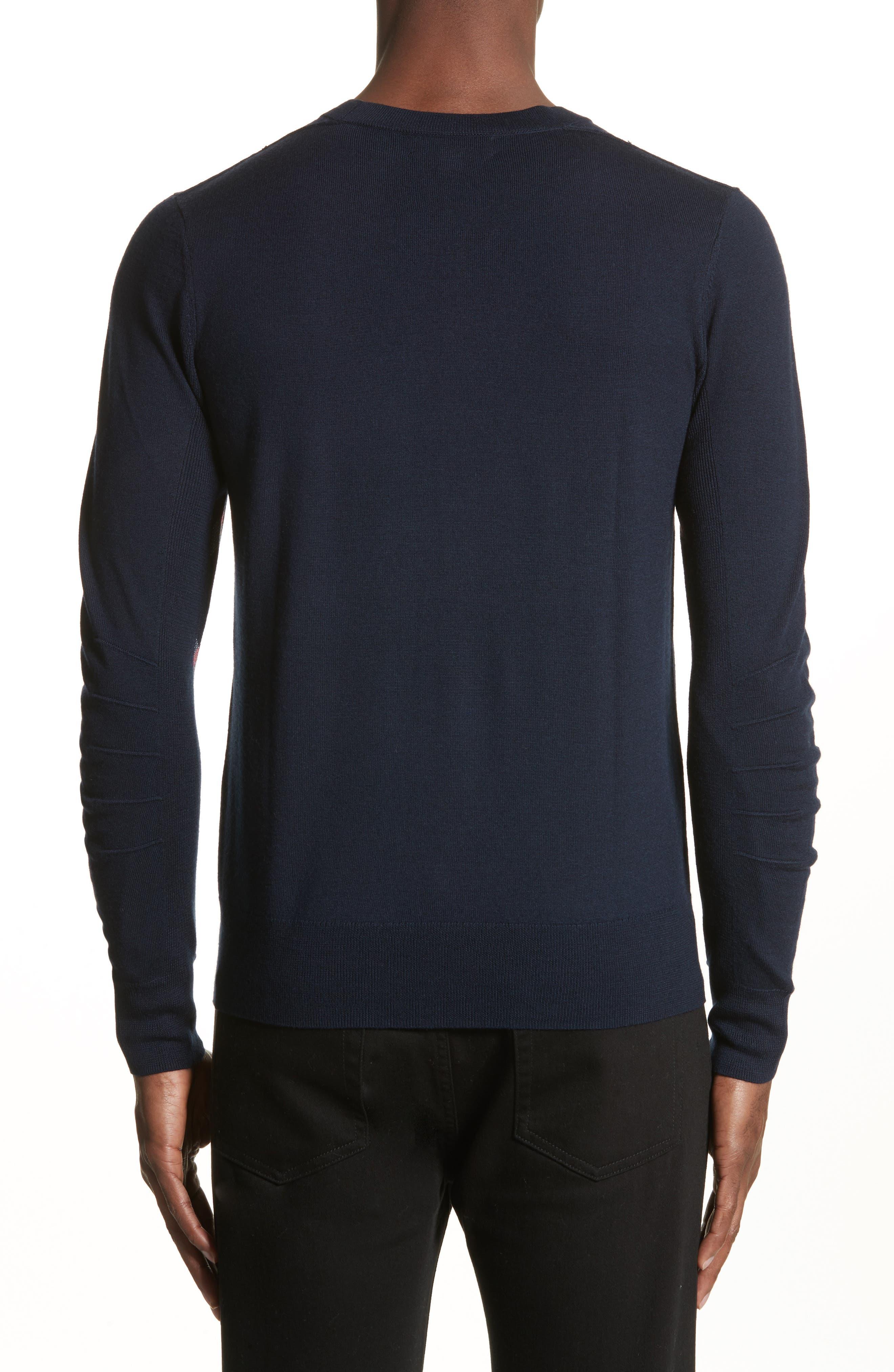 Carter Merino Wool Crewneck Sweater,                             Alternate thumbnail 6, color,