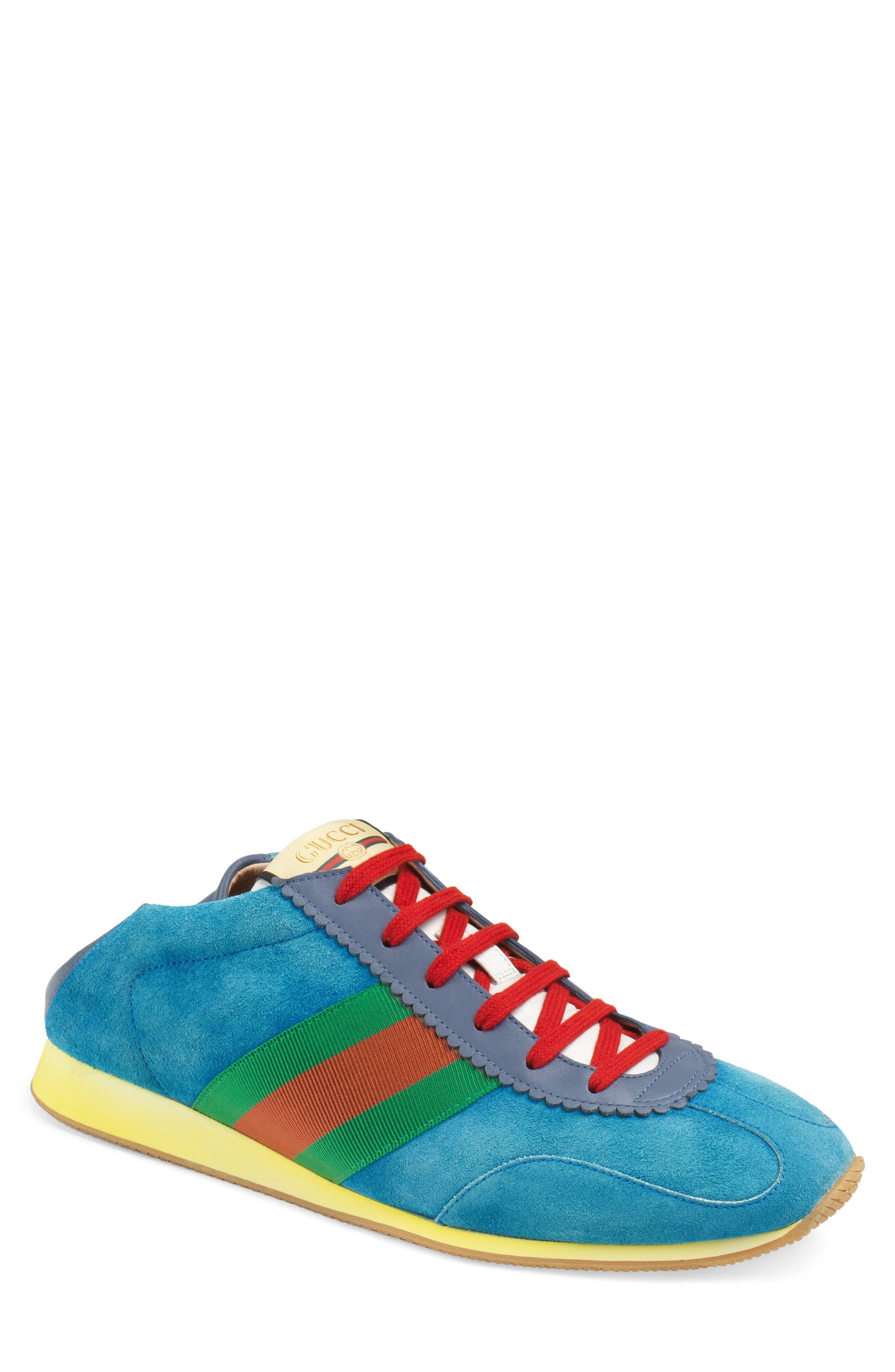 Rocket Collapsible Sneaker, Main, color, BLUE/ INK