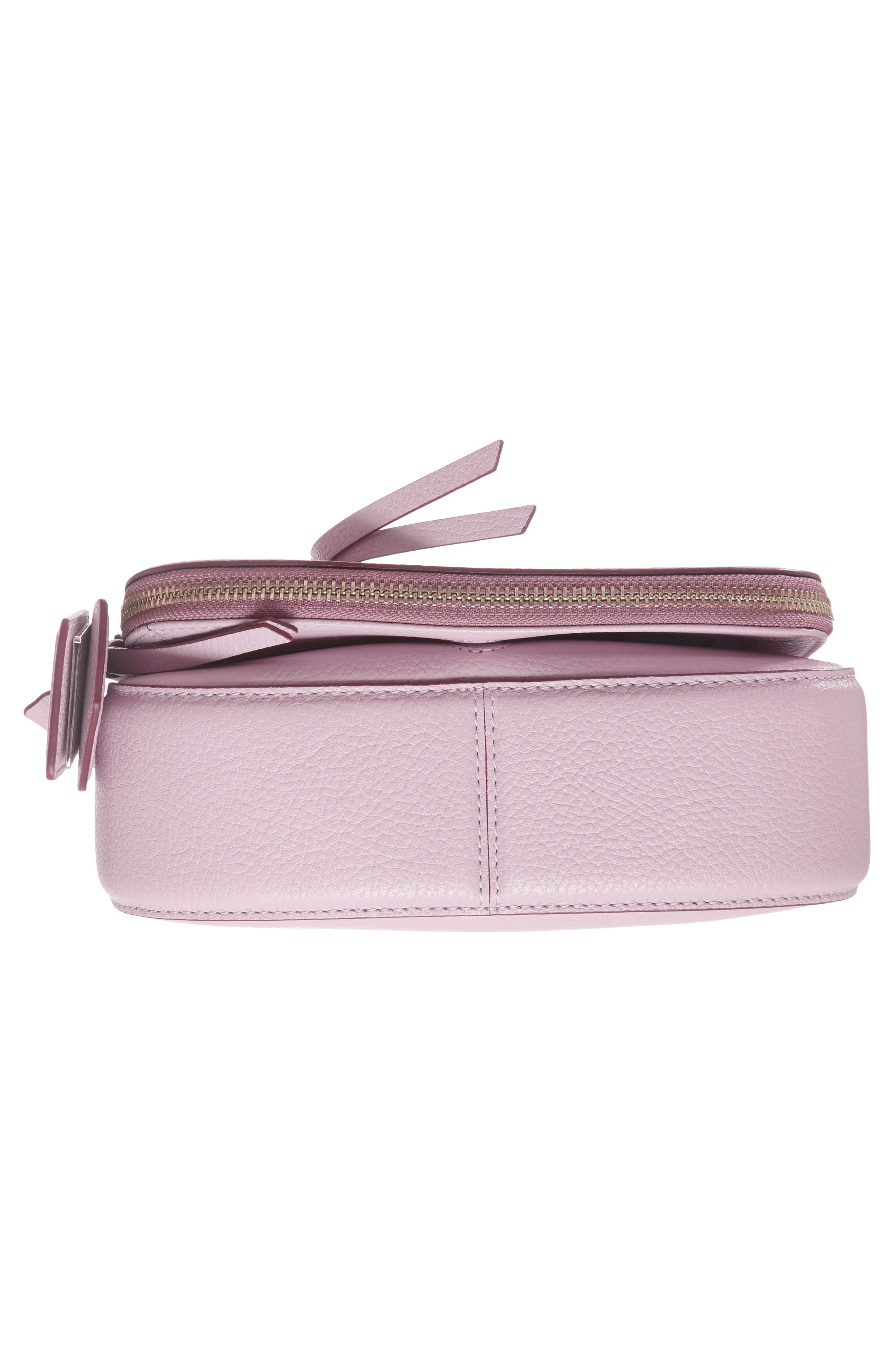 Small Recruit Nomad Pebbled Leather Crossbody Bag,                             Alternate thumbnail 77, color,