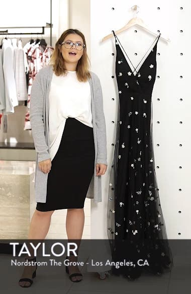 Chelsea Covent Garden Embroidered Gown, sales video thumbnail