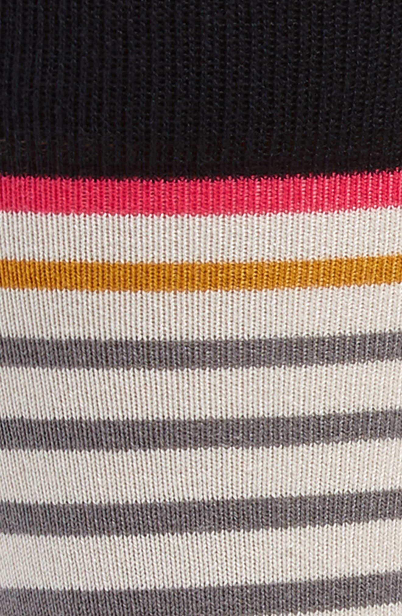 3-Pack Stripe Socks,                             Alternate thumbnail 2, color,                             BLACK/ GREY/ MULTI