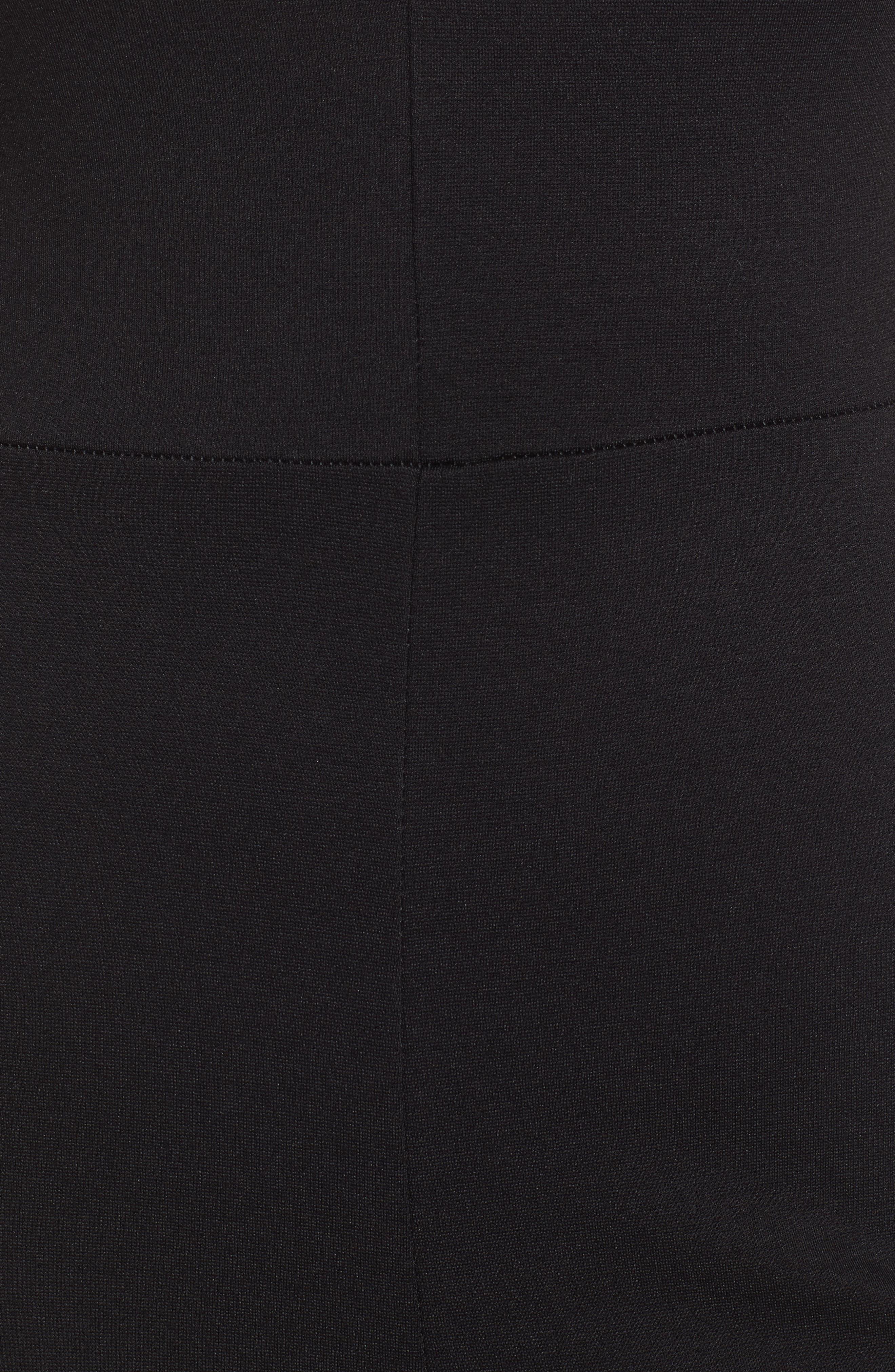 Plunging Jumpsuit,                             Alternate thumbnail 6, color,                             001