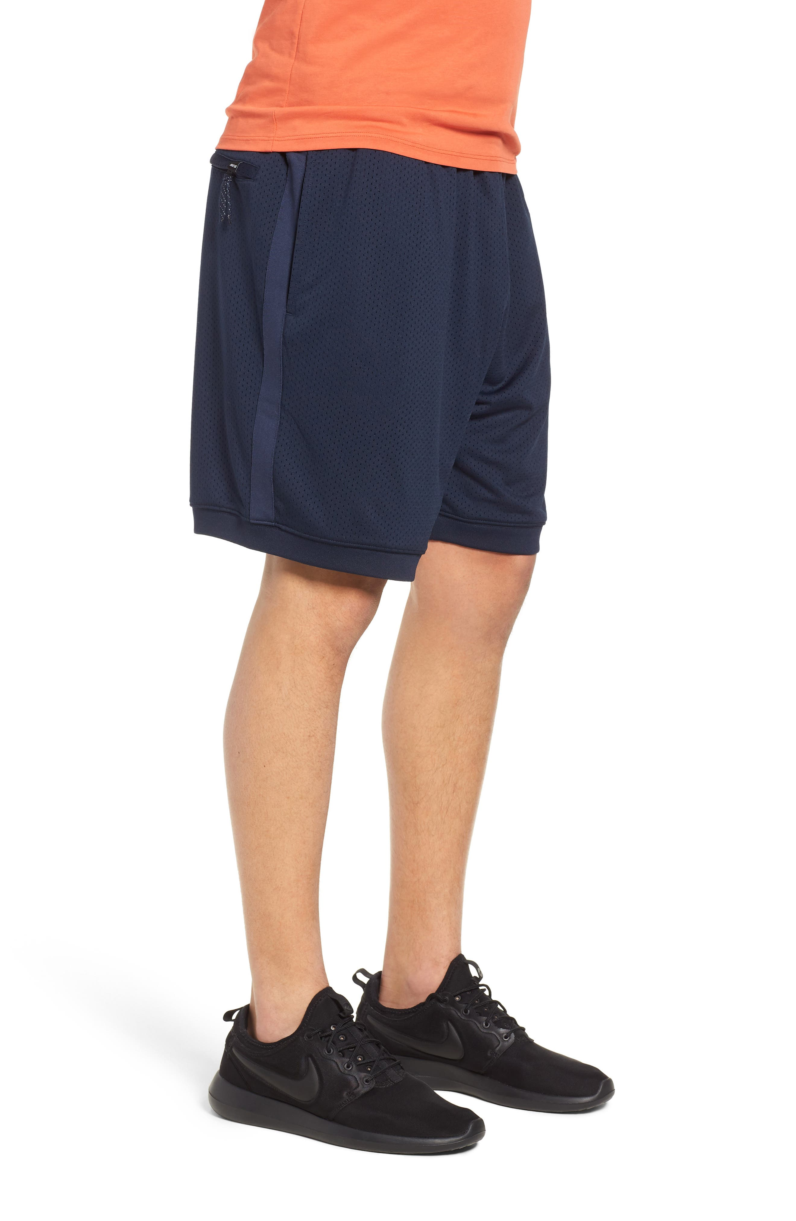 SB Dry Heritage Court Shorts,                             Alternate thumbnail 3, color,                             OBSIDIAN/ WHITE