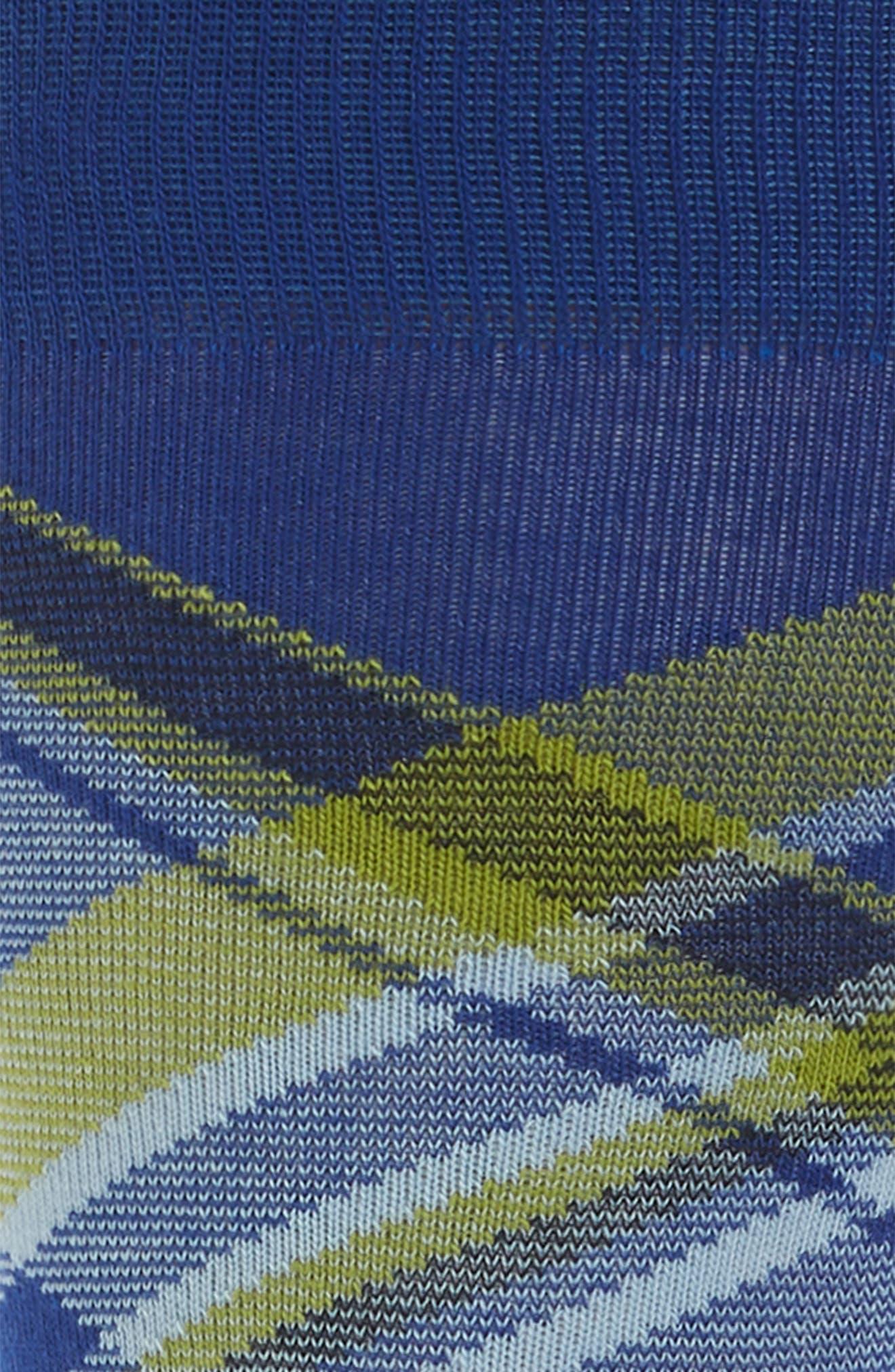 Diagonal Plaid Crew Socks,                             Alternate thumbnail 5, color,