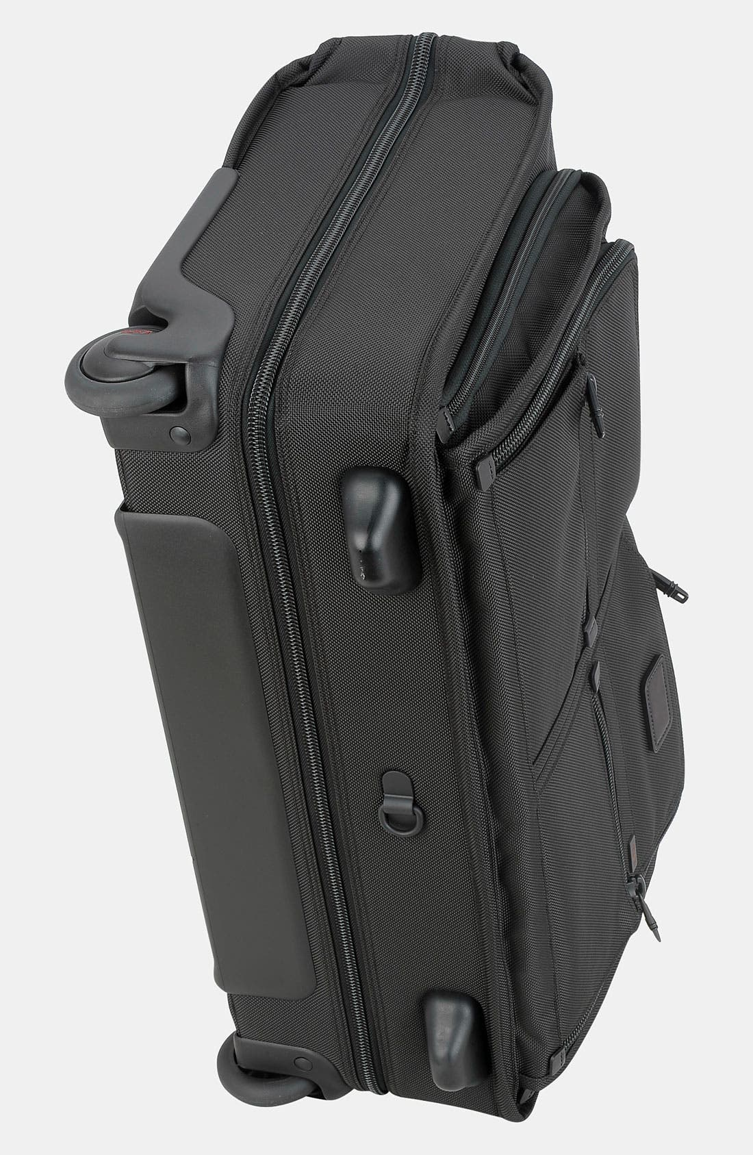 TUMI,                             'Alpha' Wheeled Carry-On Garment Bag,                             Alternate thumbnail 2, color,                             001