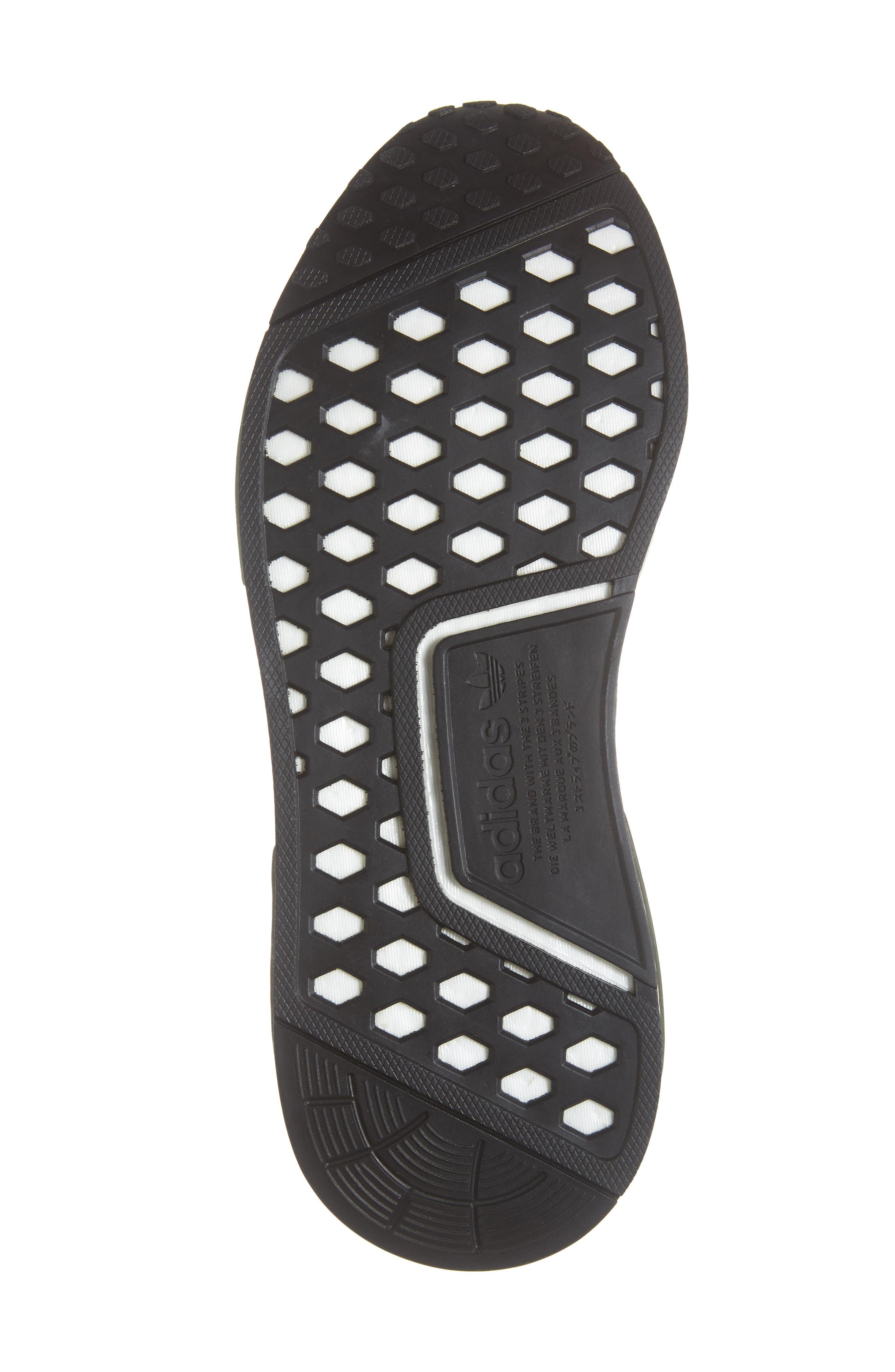 NMD R1 Camo Sneaker,                             Alternate thumbnail 6, color,                             305