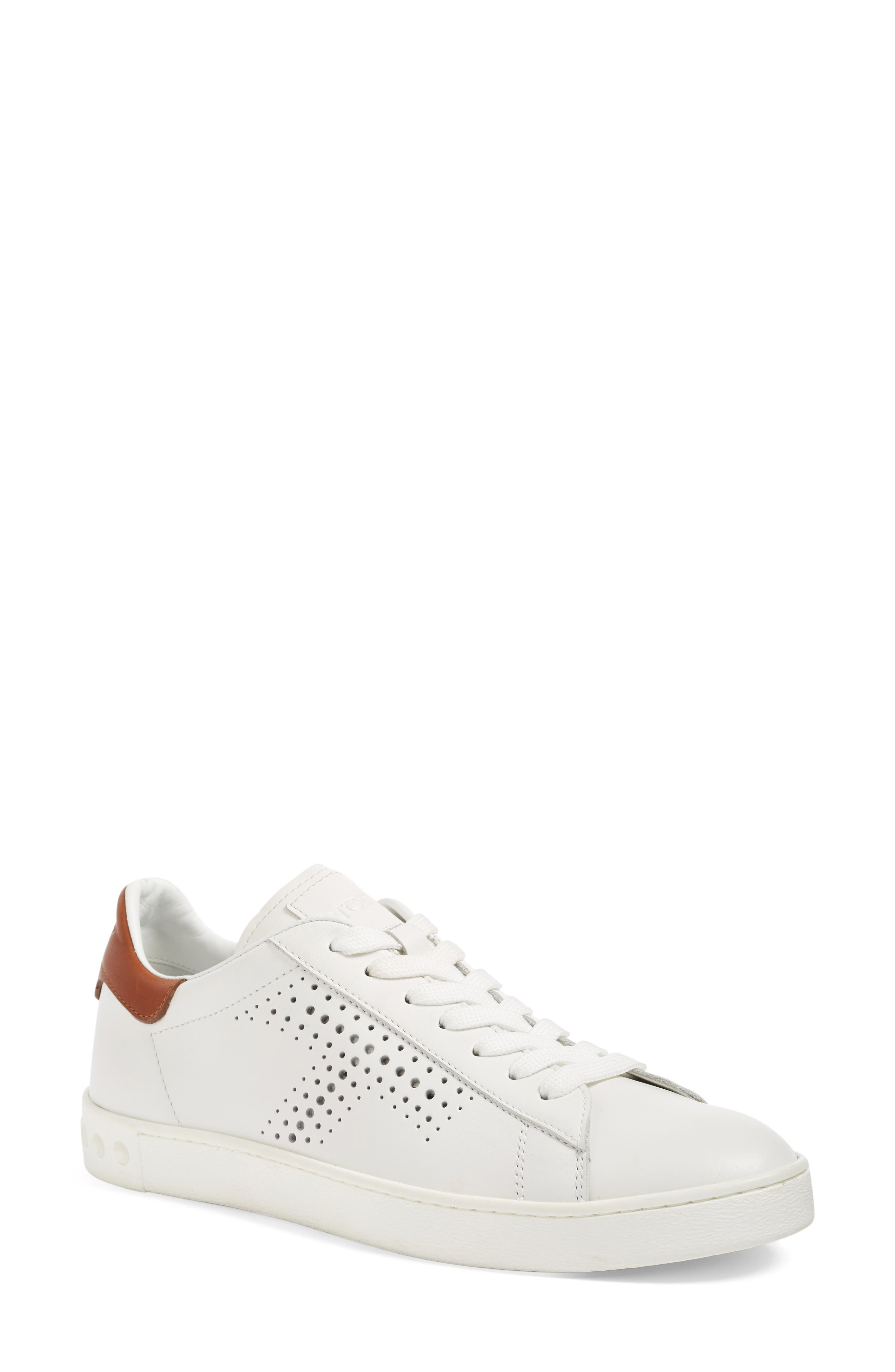 Perforated T Sneaker,                             Main thumbnail 1, color,