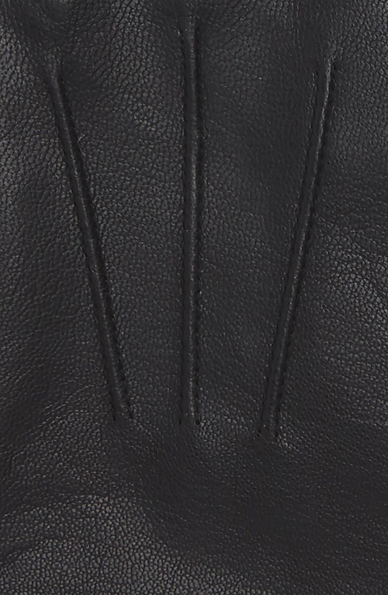 Hainz Leather Gloves,                             Alternate thumbnail 2, color,                             001