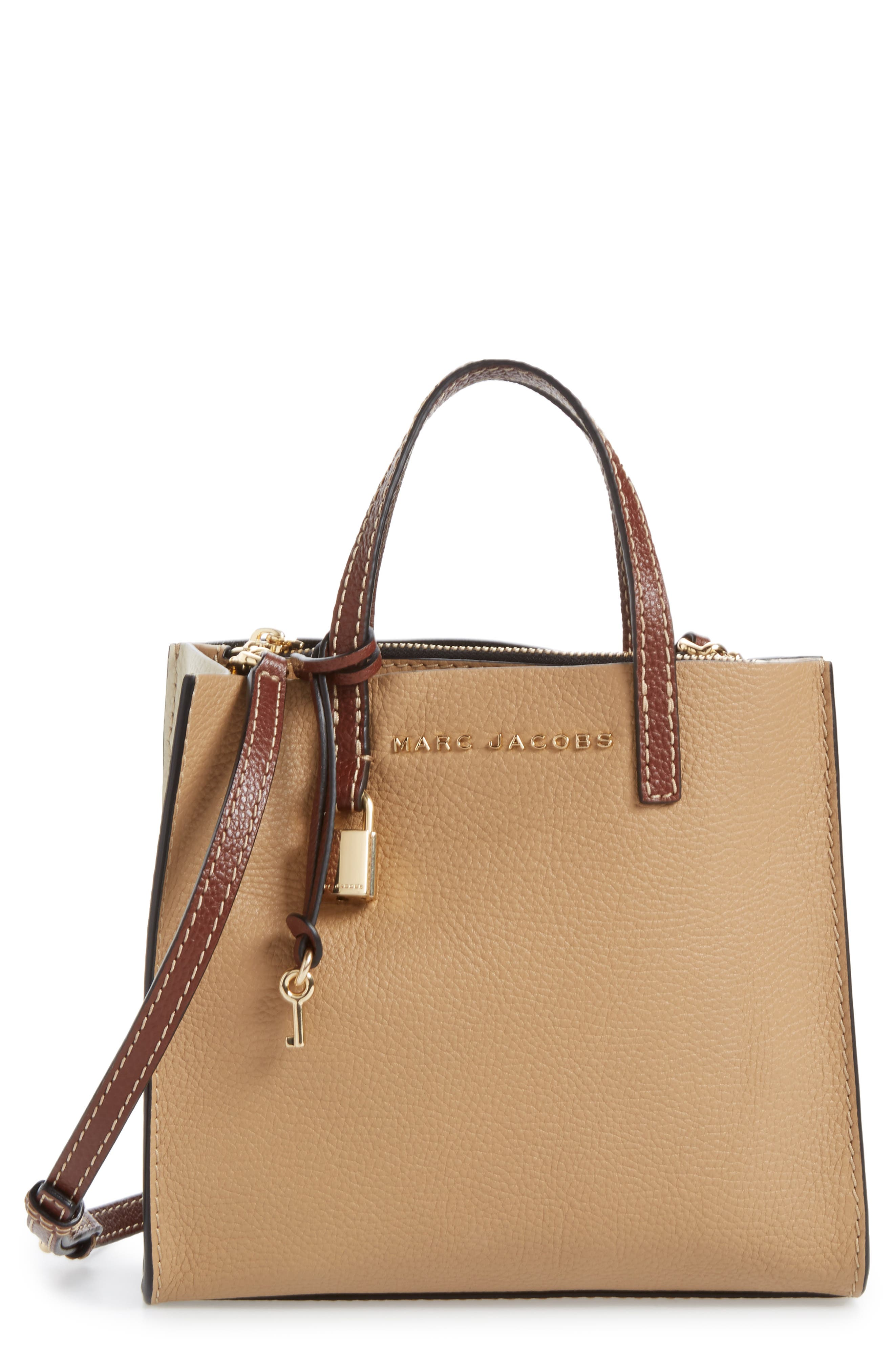 The Grind Mini Colorblock Leather Tote,                         Main,                         color,