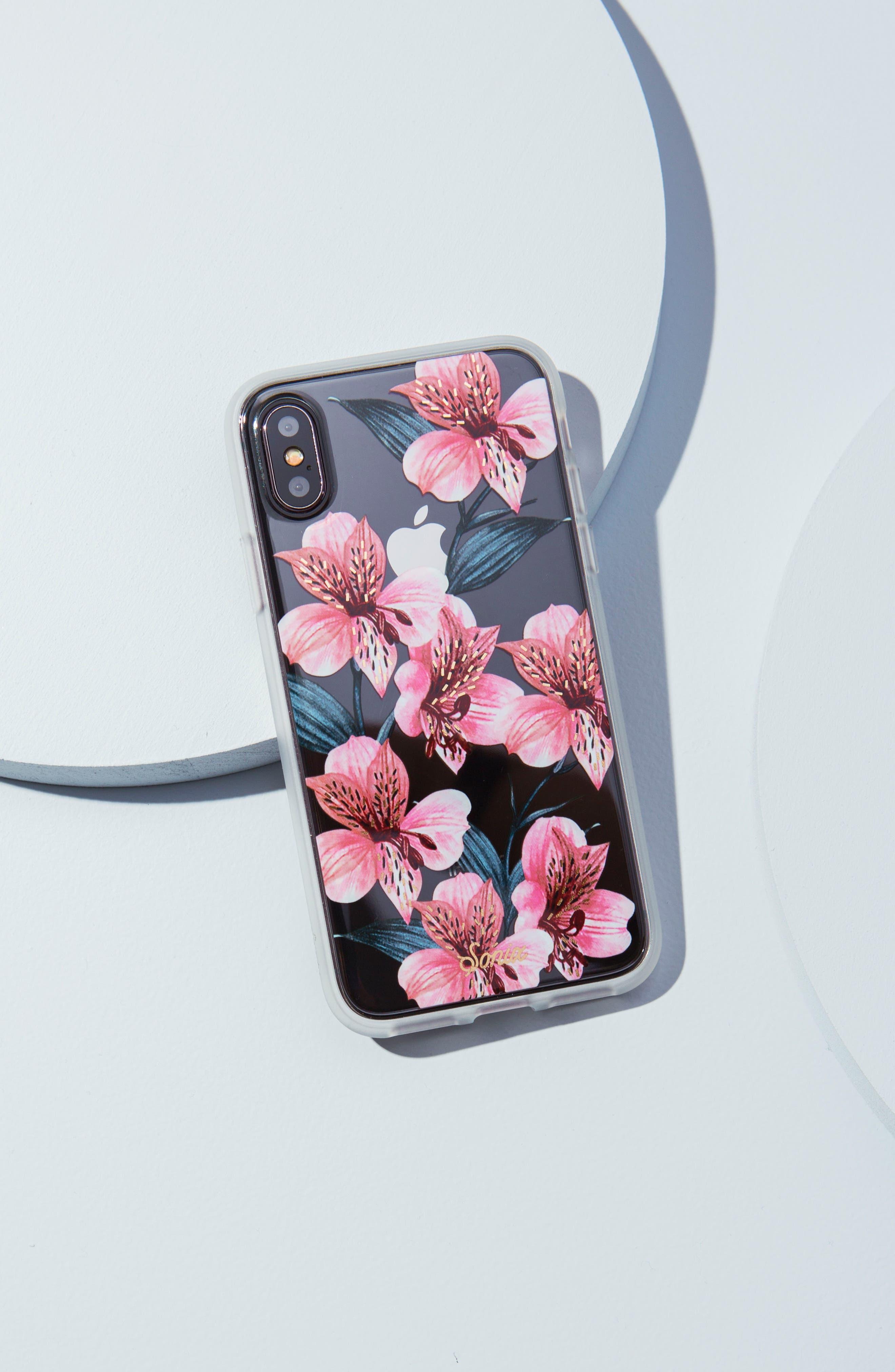 Tiger Lily iPhone 6/6s/7/8 & 6/6s/7/8 Plus Case,                             Alternate thumbnail 4, color,                             650
