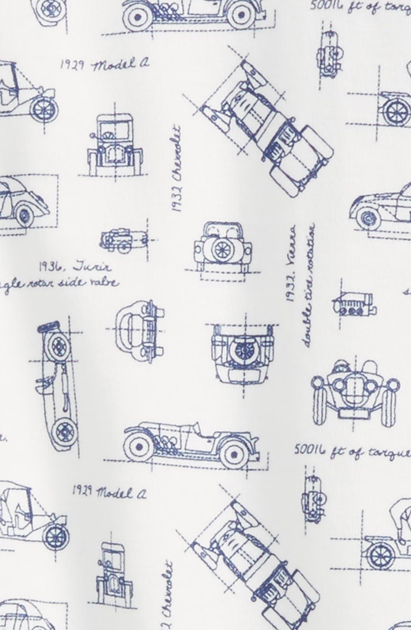 Print Gown,                             Alternate thumbnail 2, color,                             100