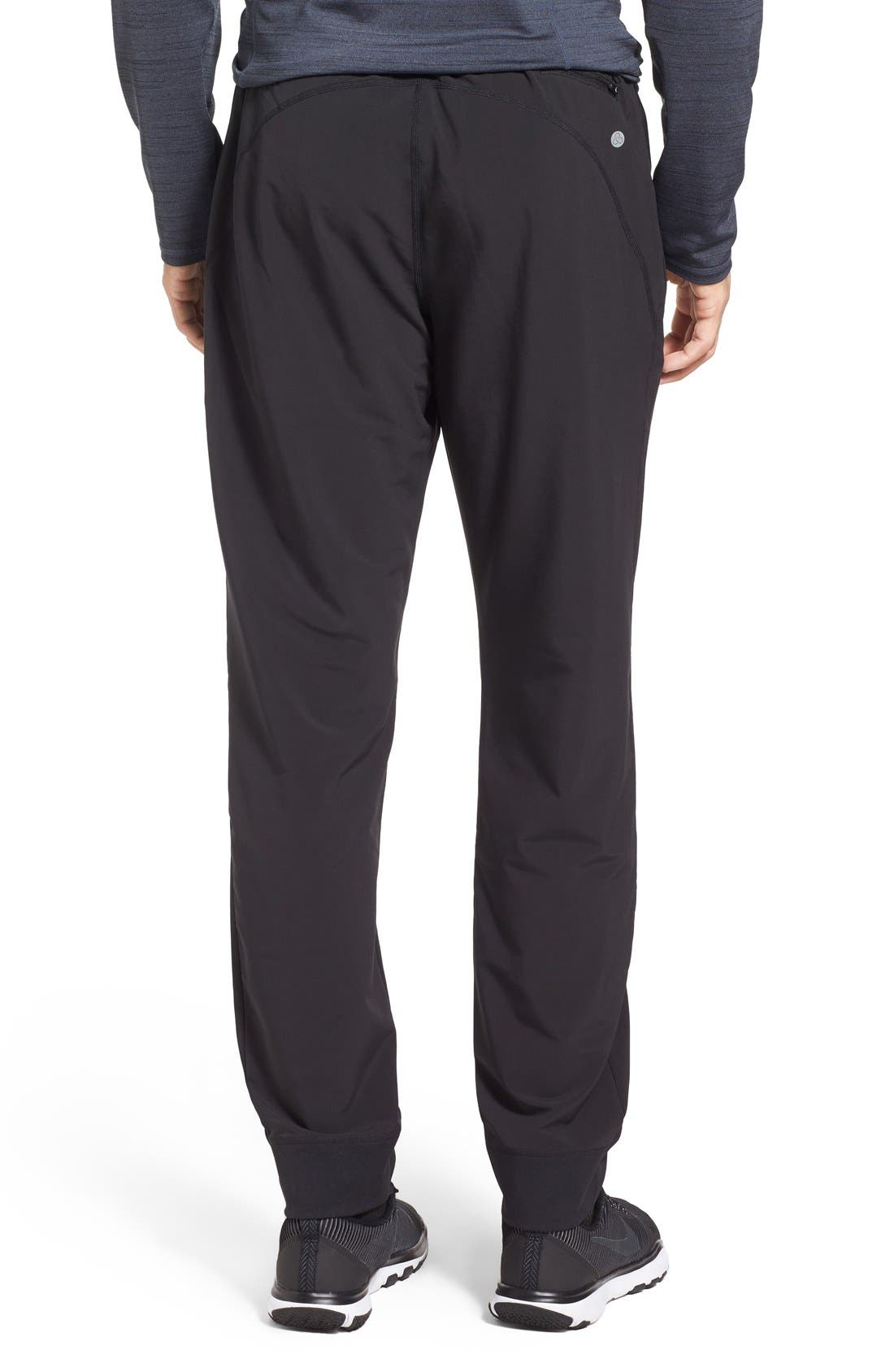 Graphite Tapered Athletic Pants,                             Alternate thumbnail 4, color,                             001