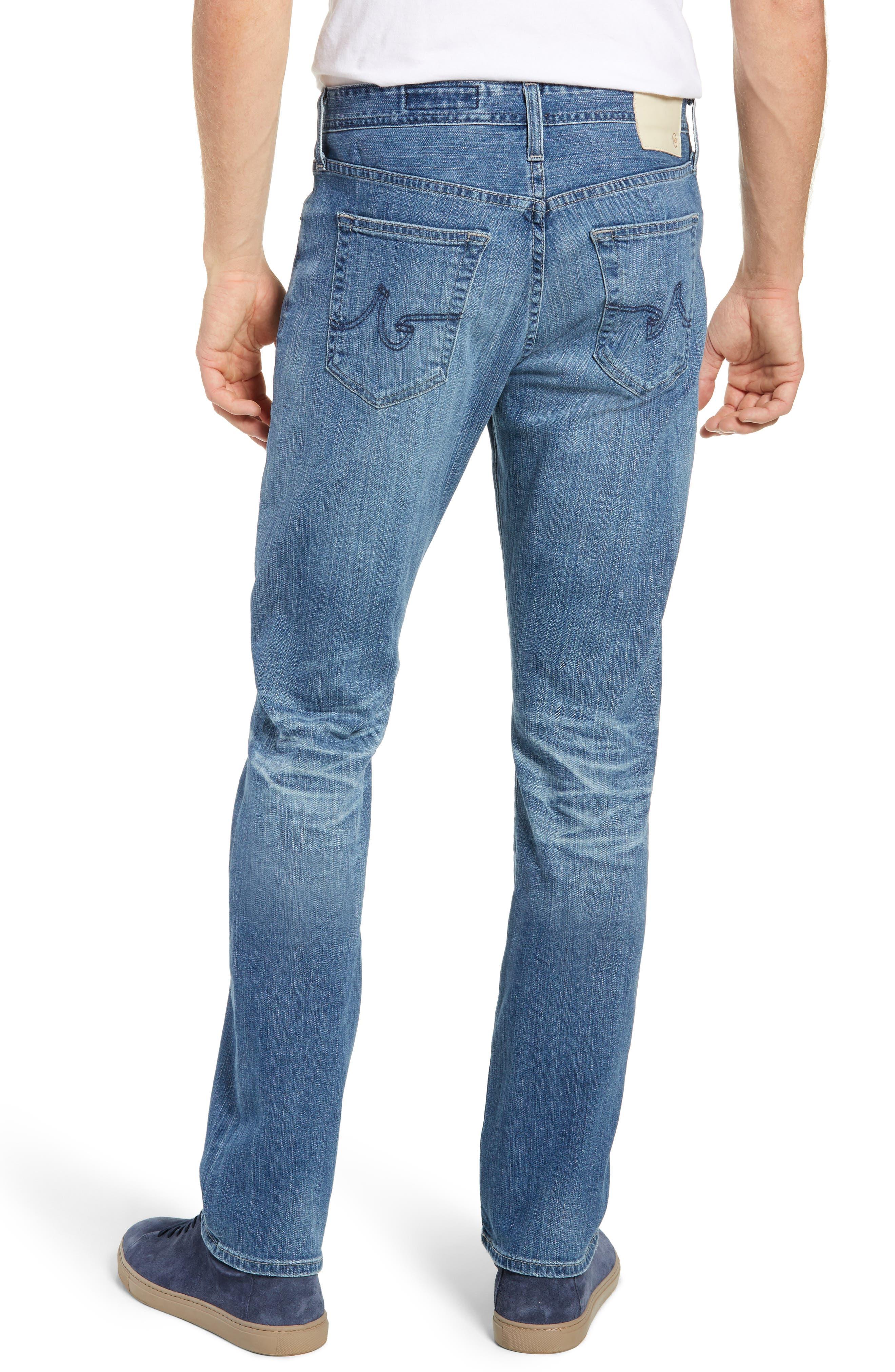 Everett Slim Straight Leg Jeans,                             Alternate thumbnail 2, color,                             14 YEARS ENGAGEMENT