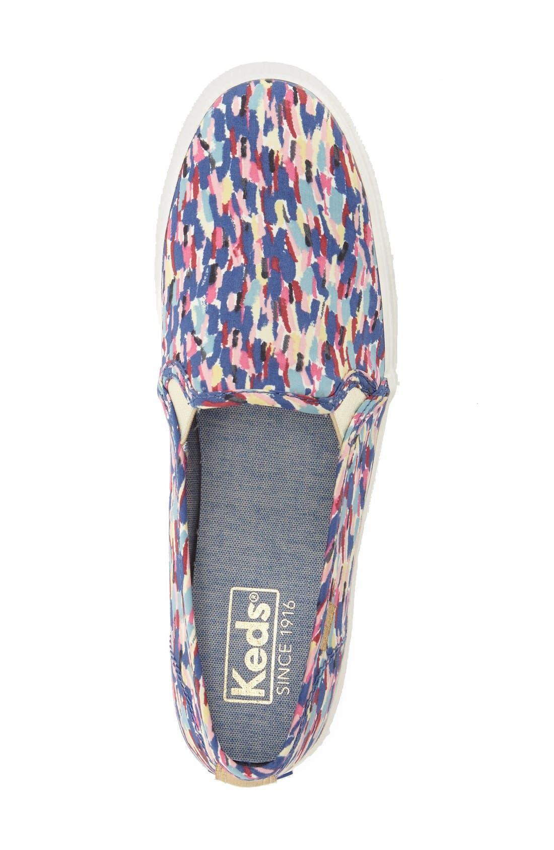 Triple Decker Slip-On Platform Sneaker,                             Alternate thumbnail 27, color,
