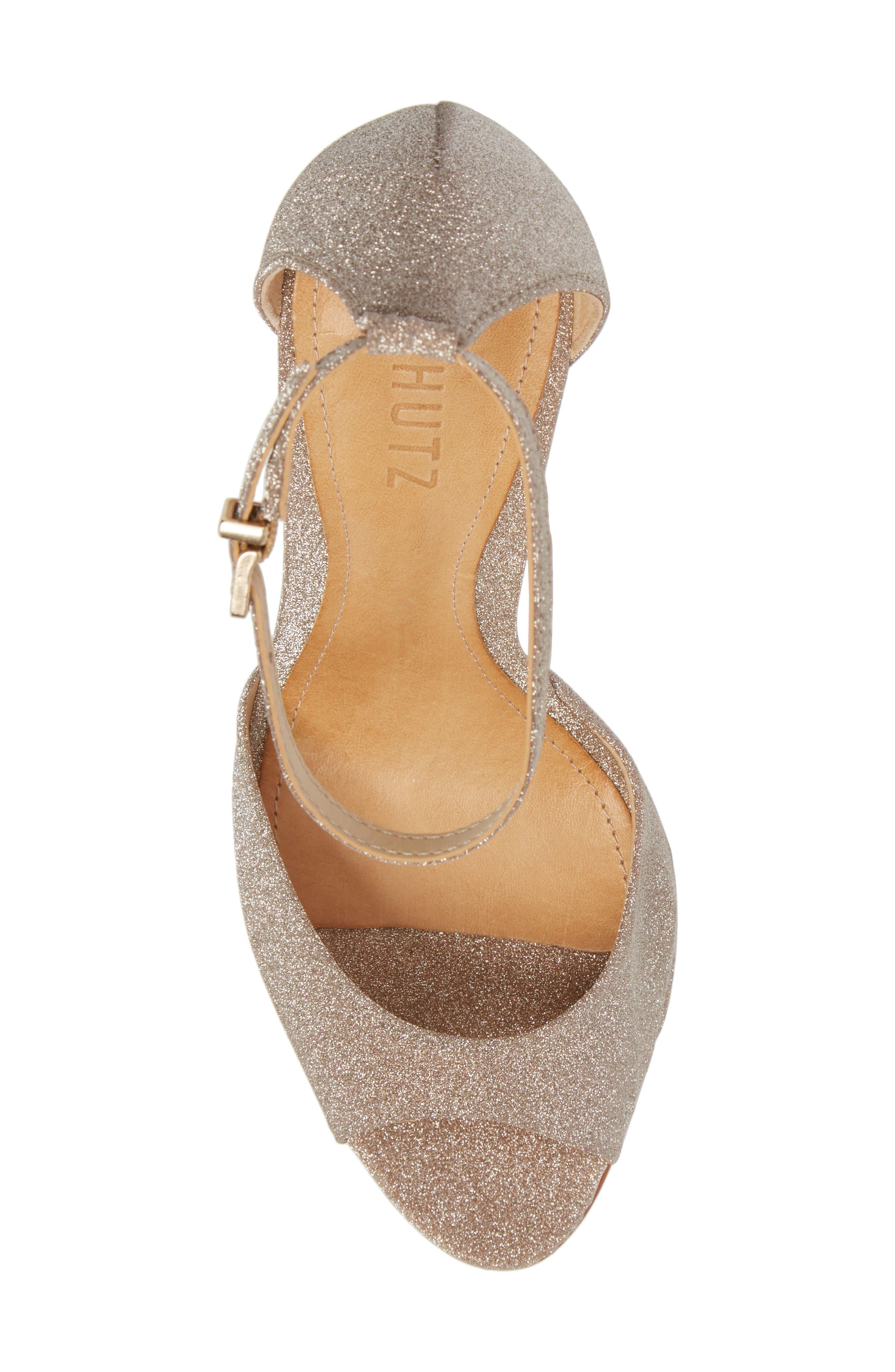 Saasha Lee Ankle Strap Sandal,                             Alternate thumbnail 5, color,                             040