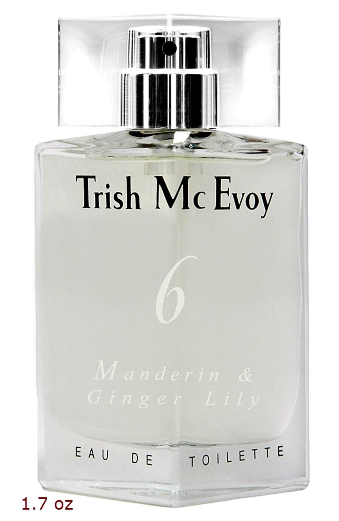 No. 6 Mandarin & Ginger Lily Eau de Toilette,                             Alternate thumbnail 3, color,                             NO COLOR