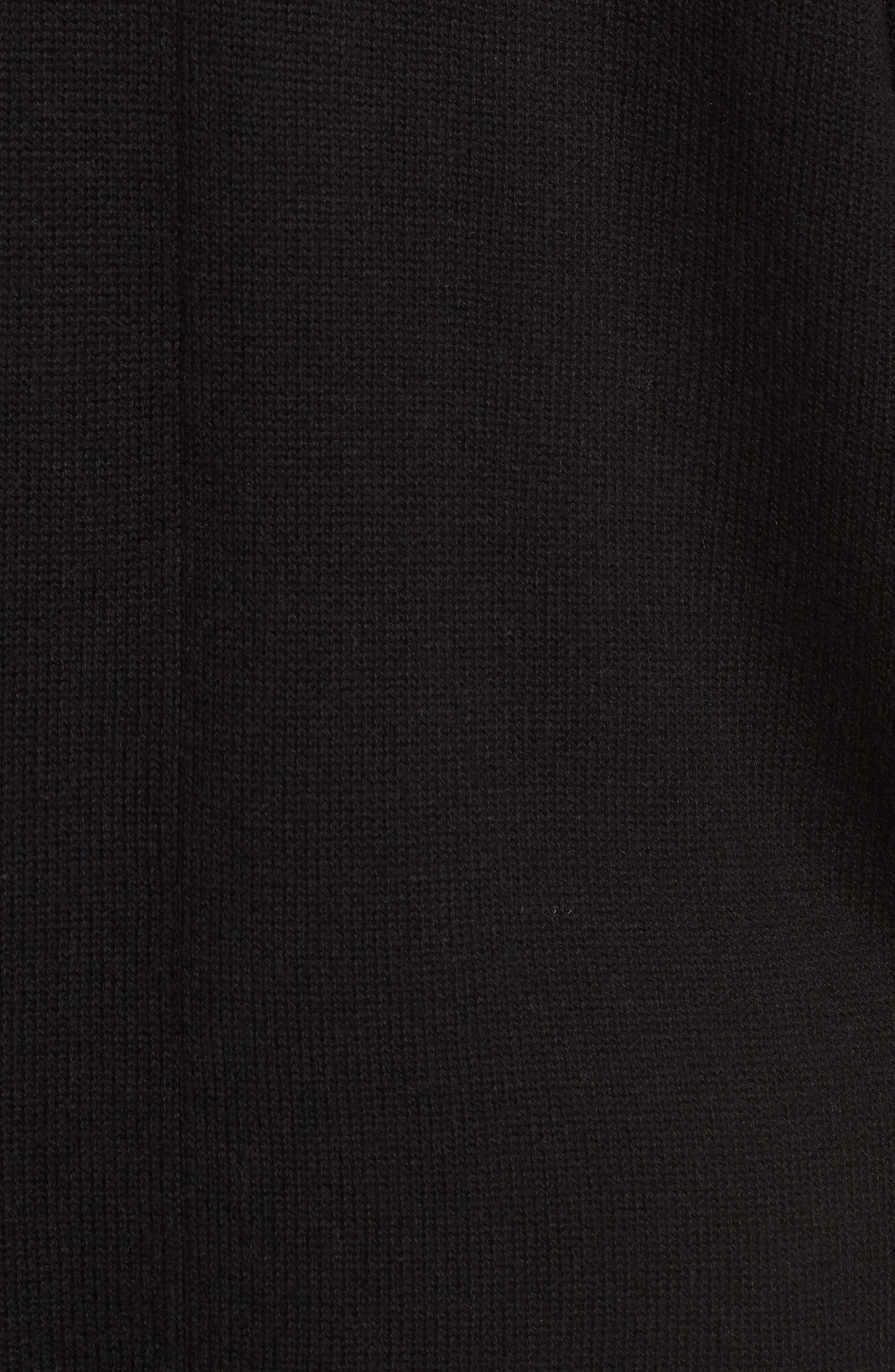 Dolman Sleeve Cardigan,                             Alternate thumbnail 5, color,                             001