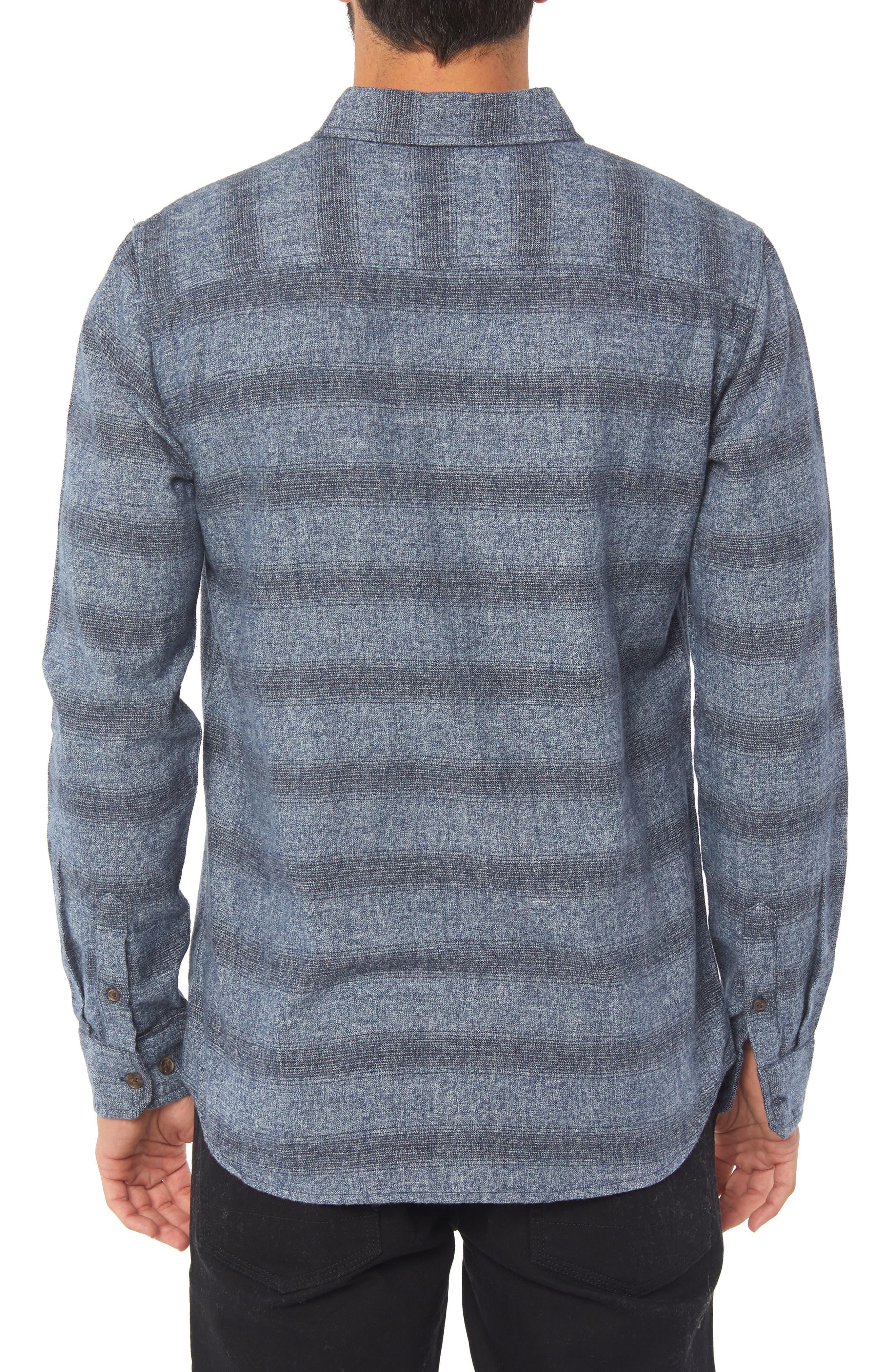 O'NEILL,                             Covington Flannel Shirt,                             Alternate thumbnail 2, color,                             410