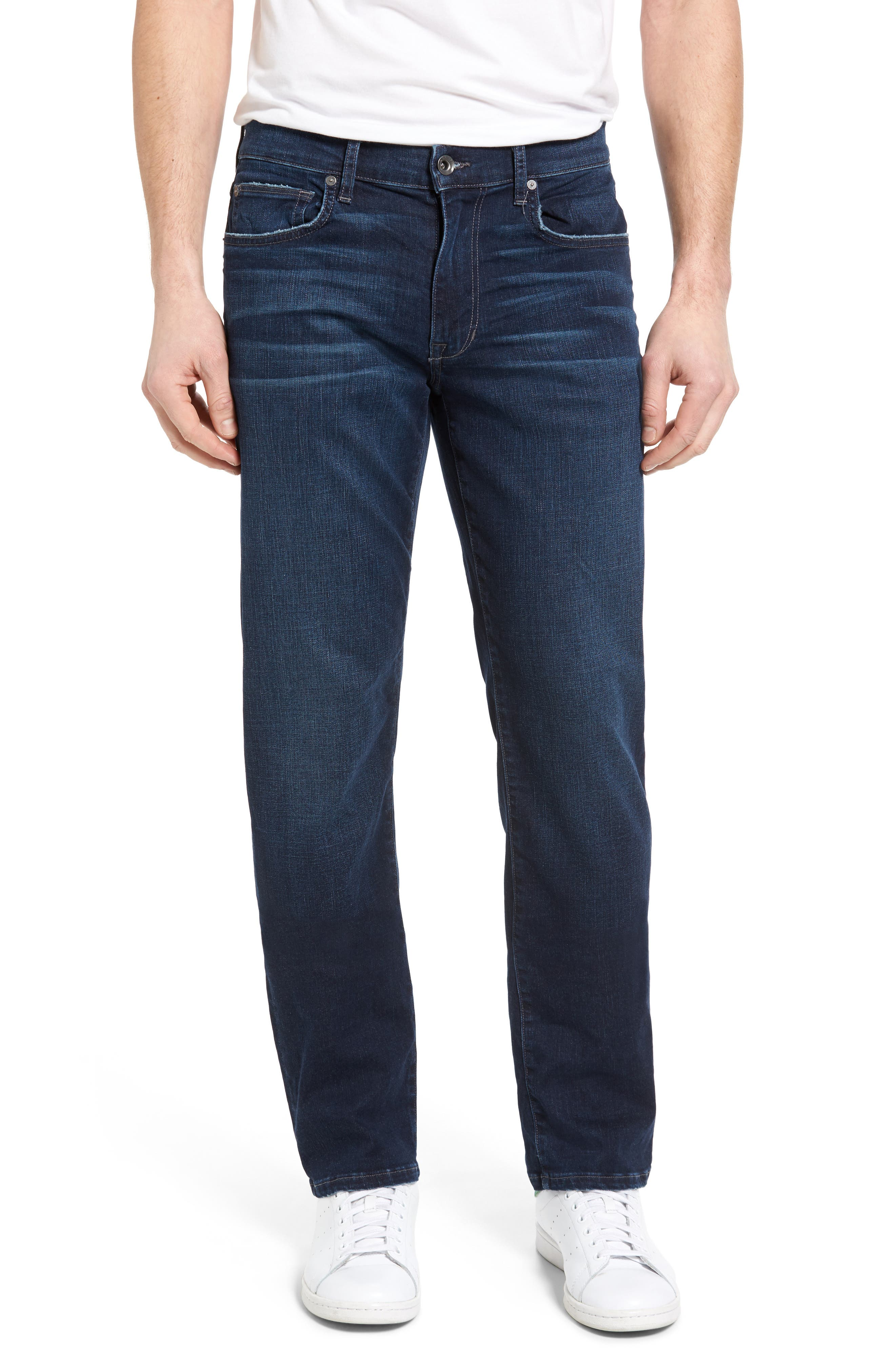 Brixton Kinetic Slim Straight Leg Jeans,                         Main,                         color, 400