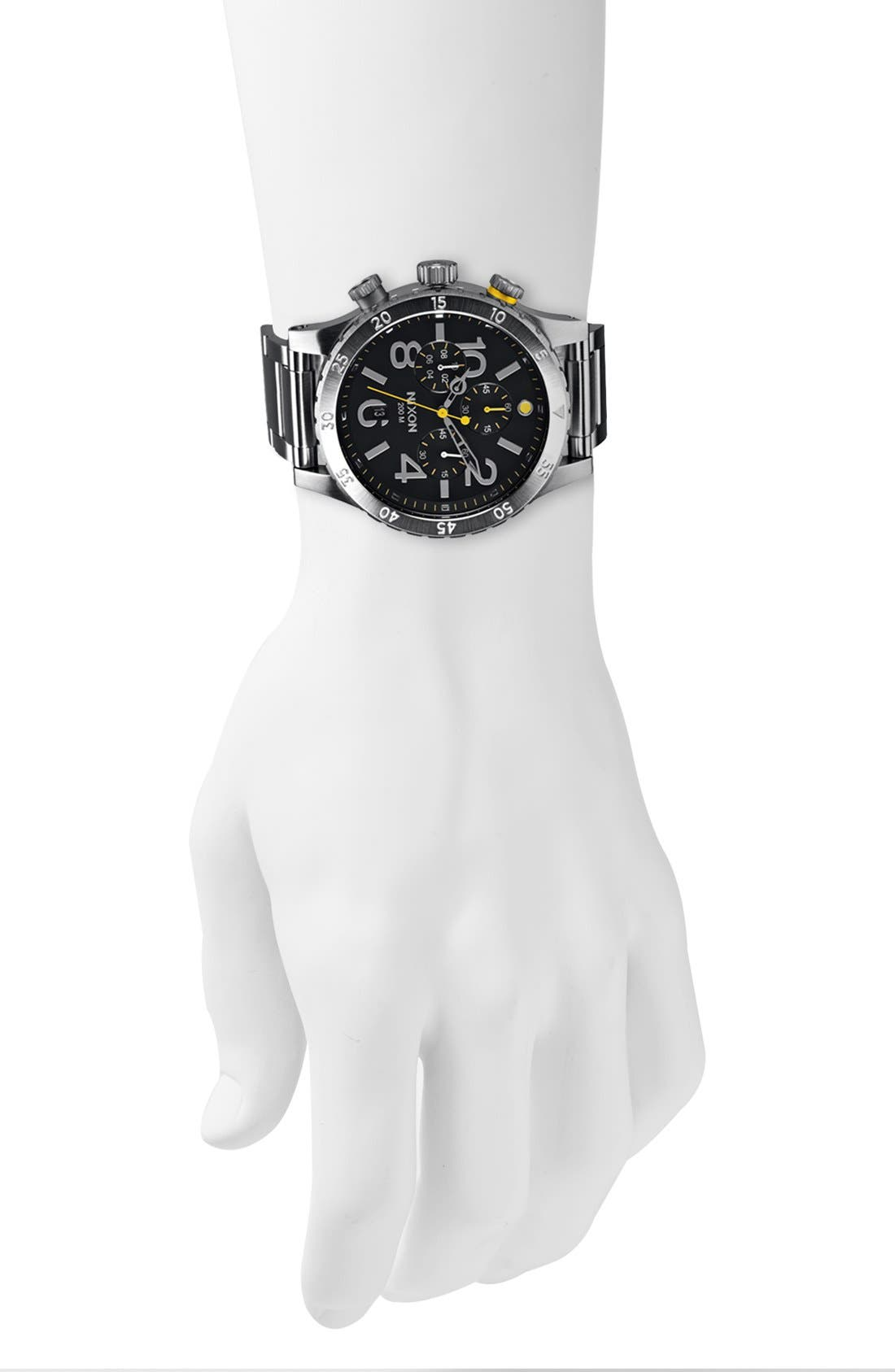 'The 48-20' Chronograph Watch, 48mm,                             Alternate thumbnail 3, color,                             001