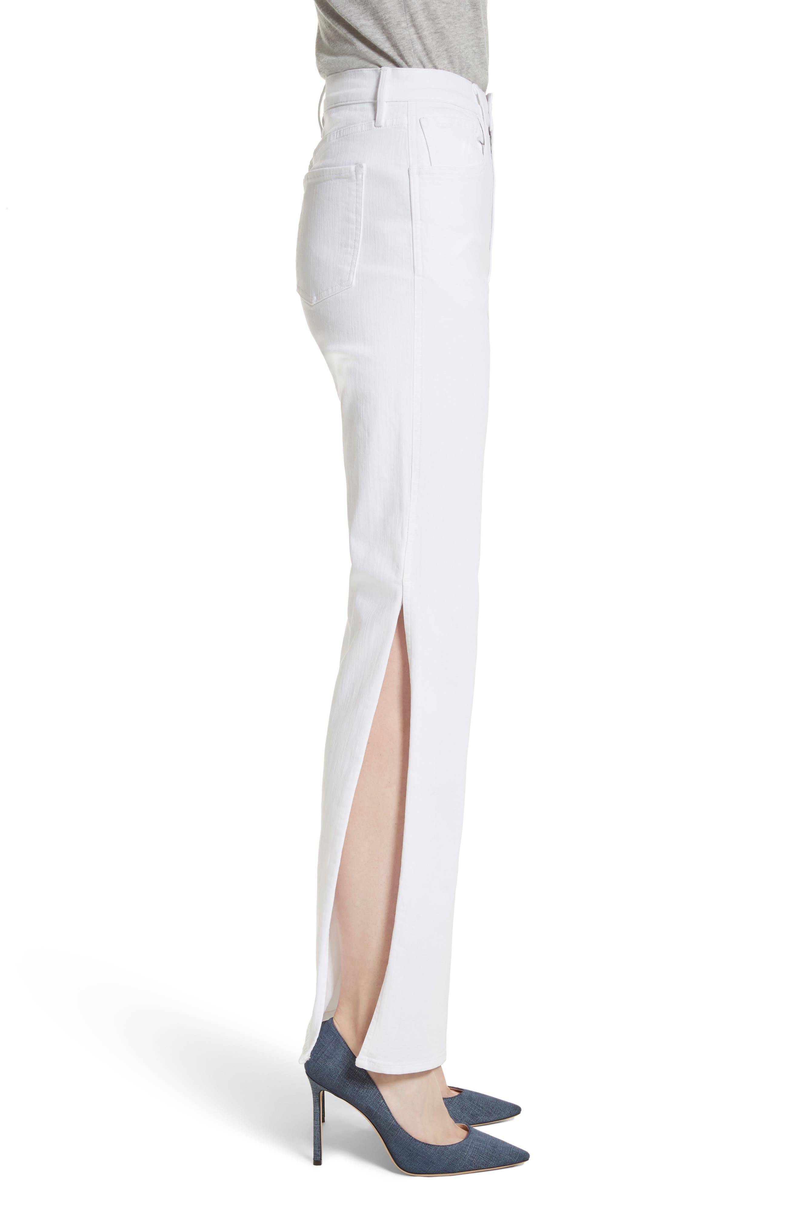 W4 Adeline Split Leg Flare Jeans,                             Alternate thumbnail 3, color,                             ASPRO