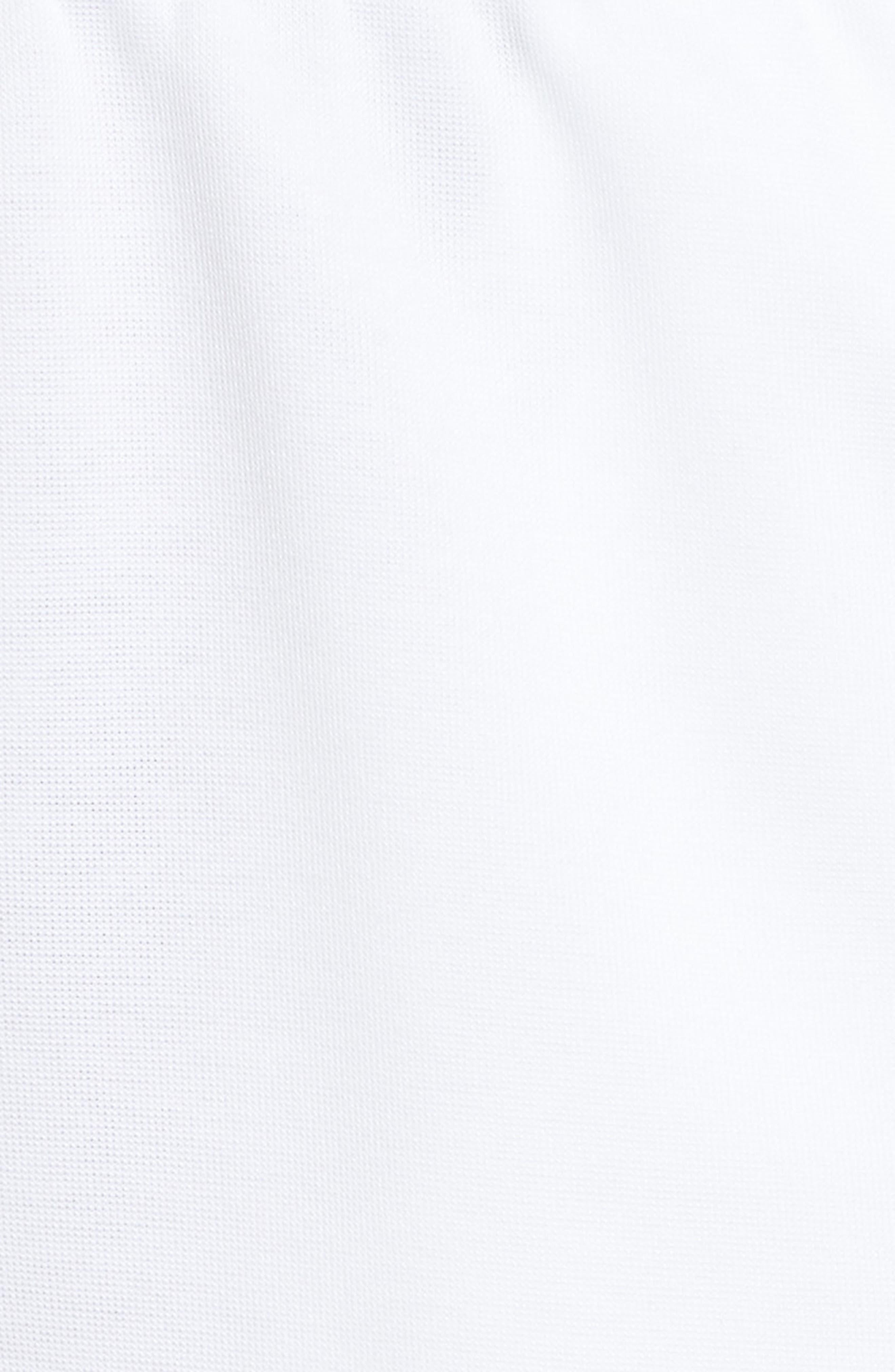 Tricot Snap Pants,                             Alternate thumbnail 6, color,                             WHITE/ BLACK/ BLACK