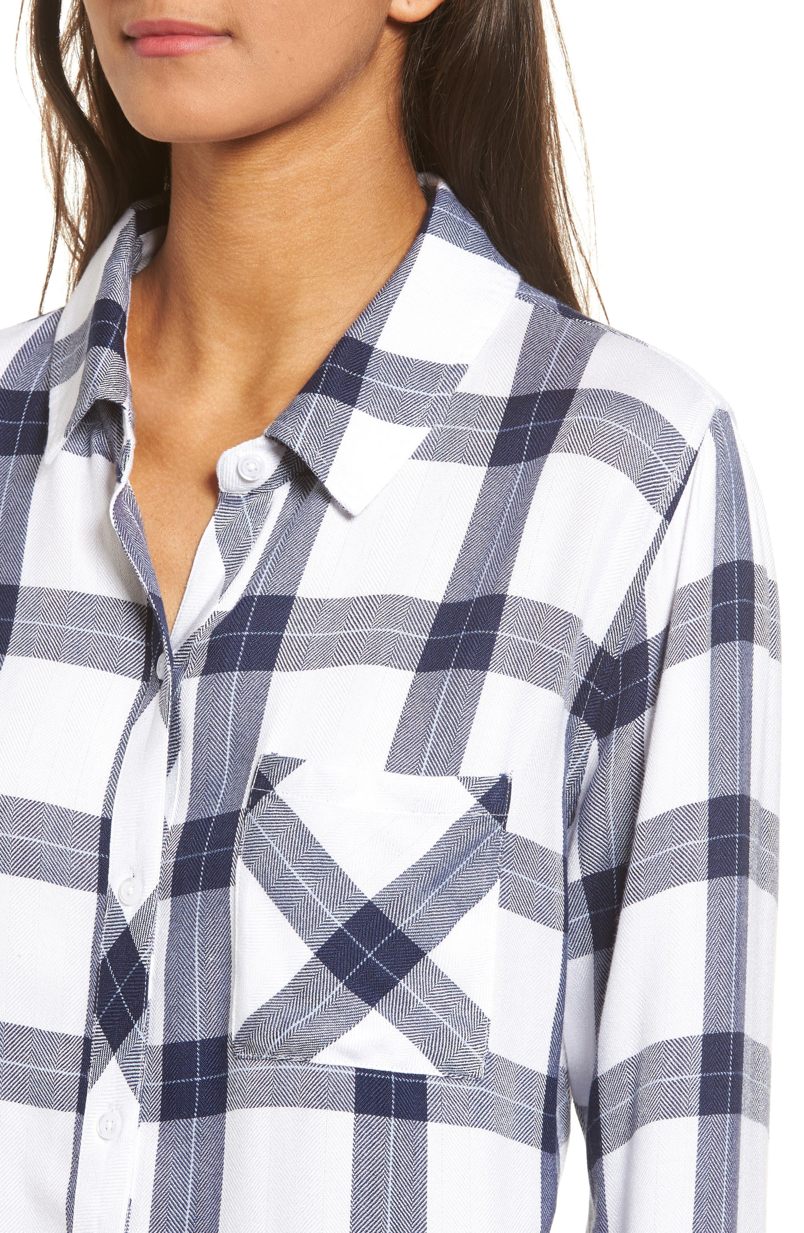 Hunter Plaid Shirt,                             Alternate thumbnail 471, color,
