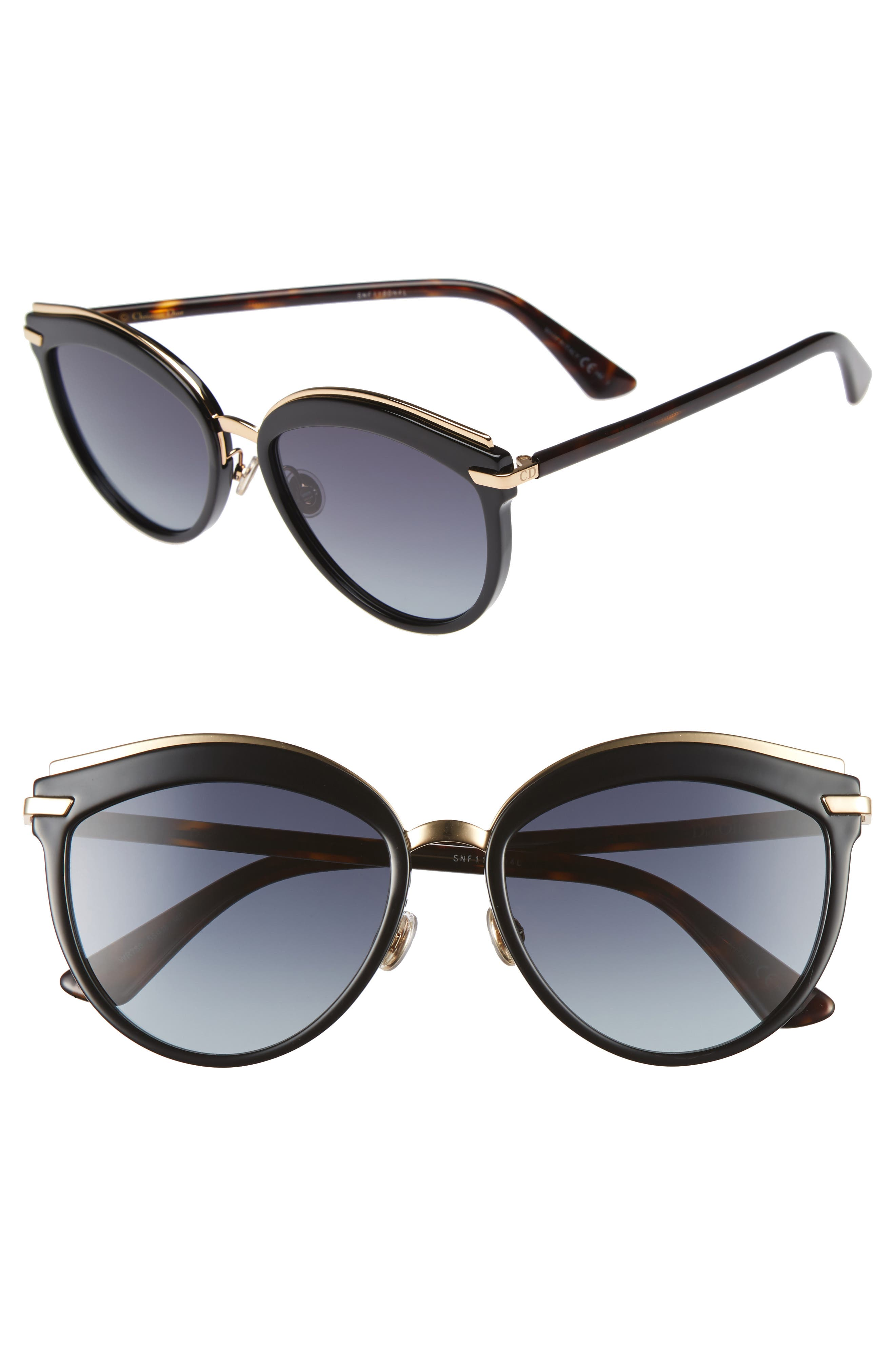 Offset 2 55mm Sunglasses,                         Main,                         color, 001