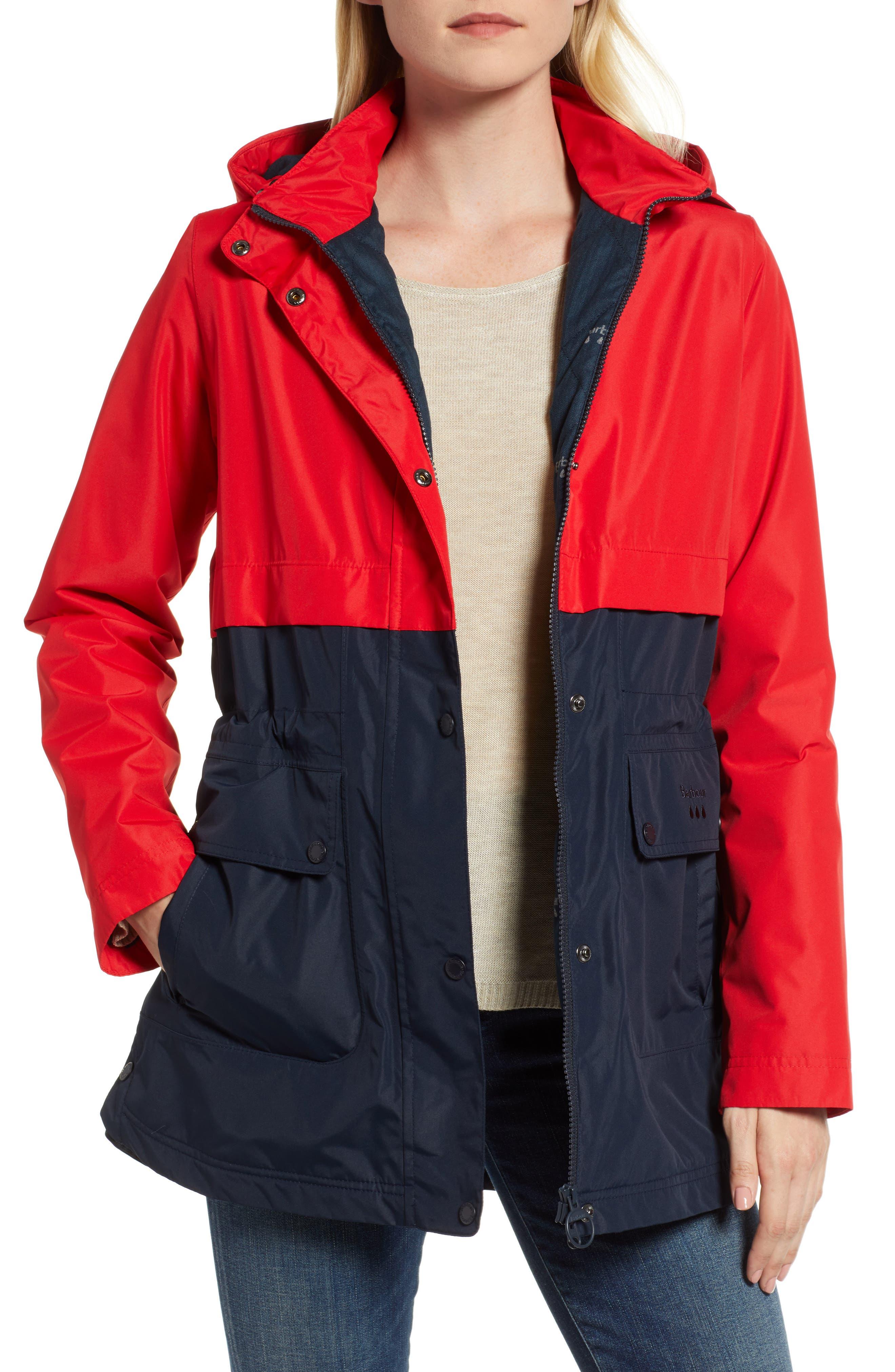 BARBOUR | Women's Barbour Altair Waterproof Hooded Jacket, | Goxip