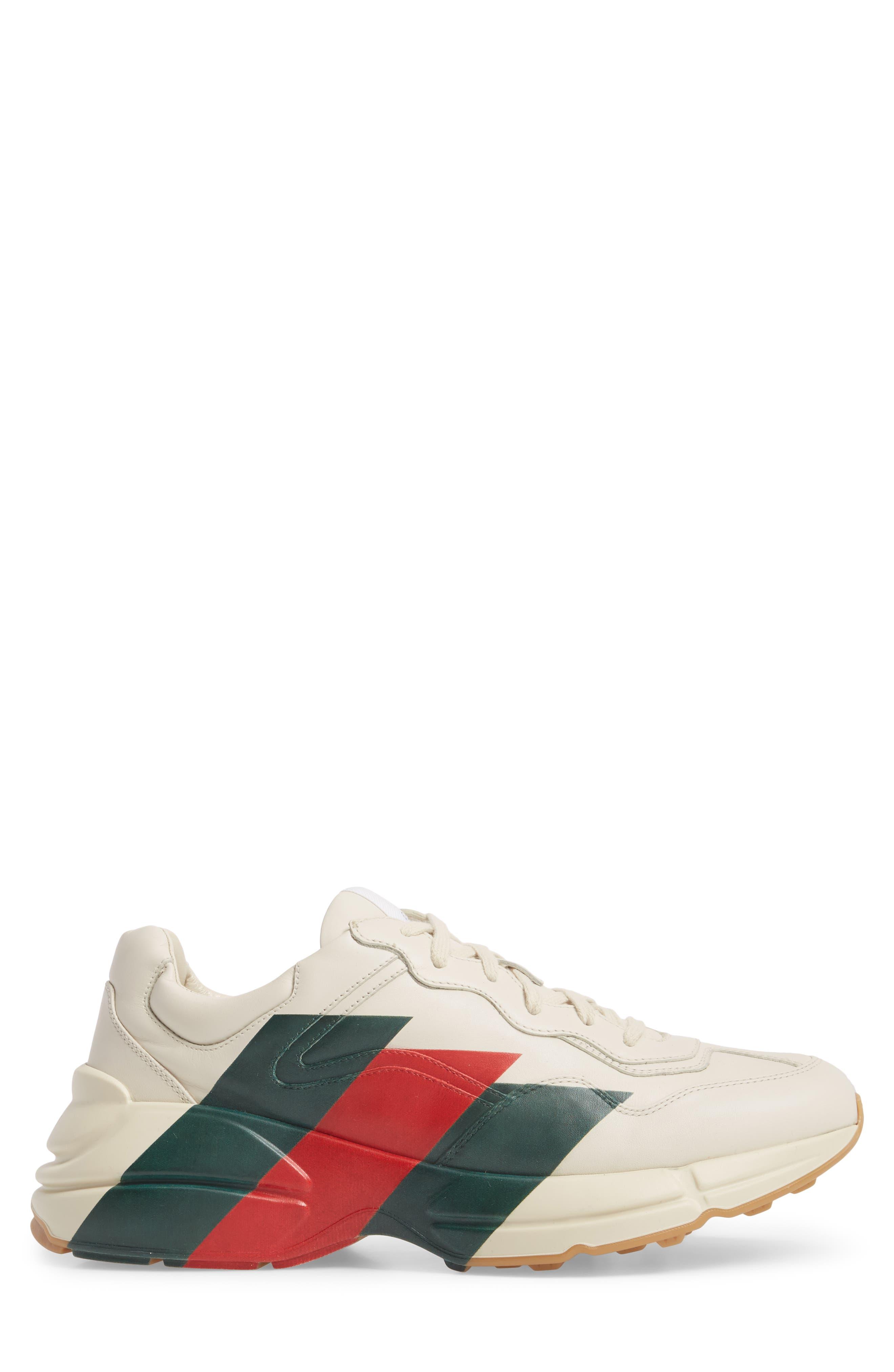 Rhyton Sneaker,                             Alternate thumbnail 3, color,                             MYSTIC WHITE