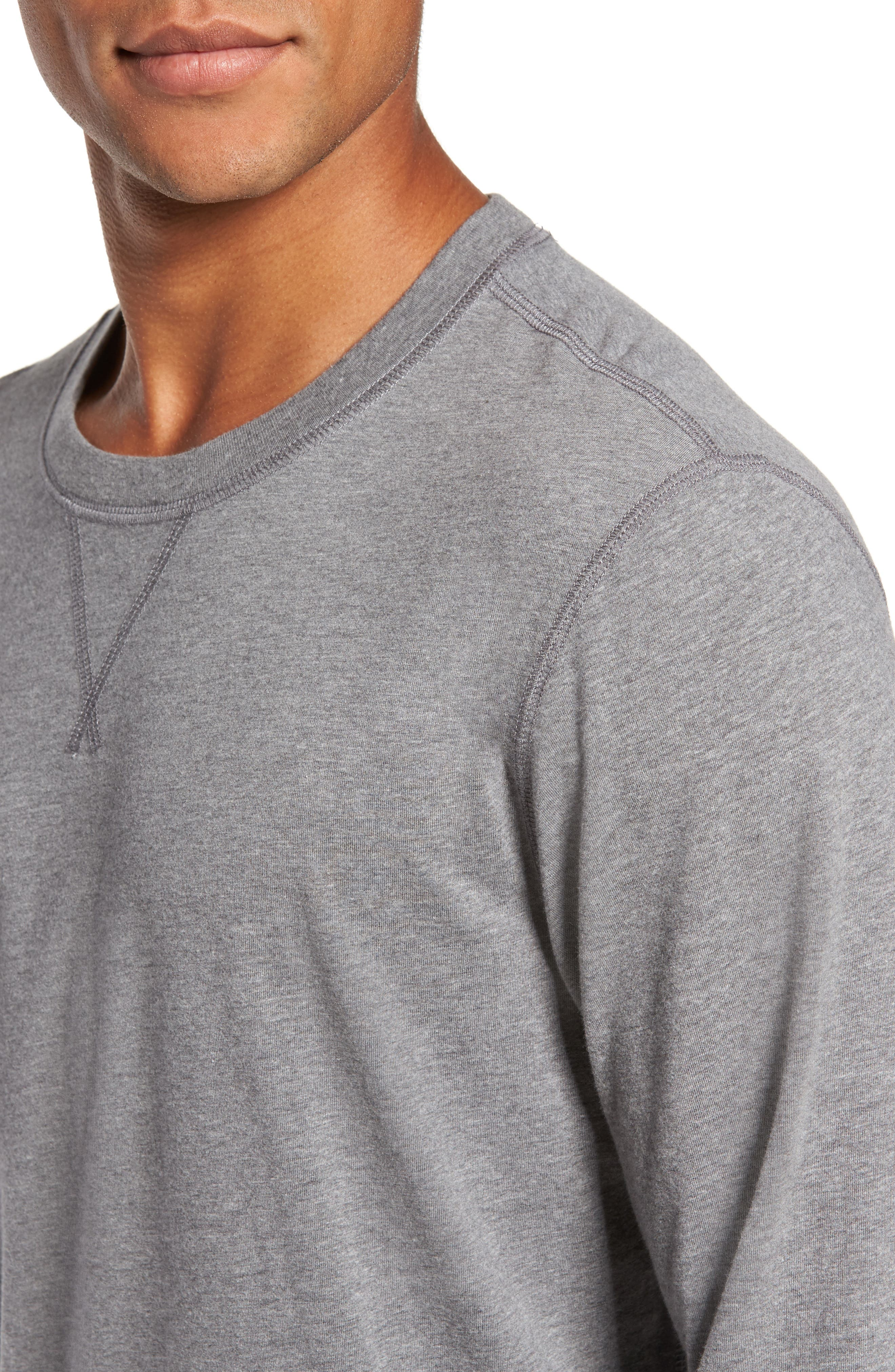 Notch Long Sleeve T-Shirt,                             Alternate thumbnail 7, color,