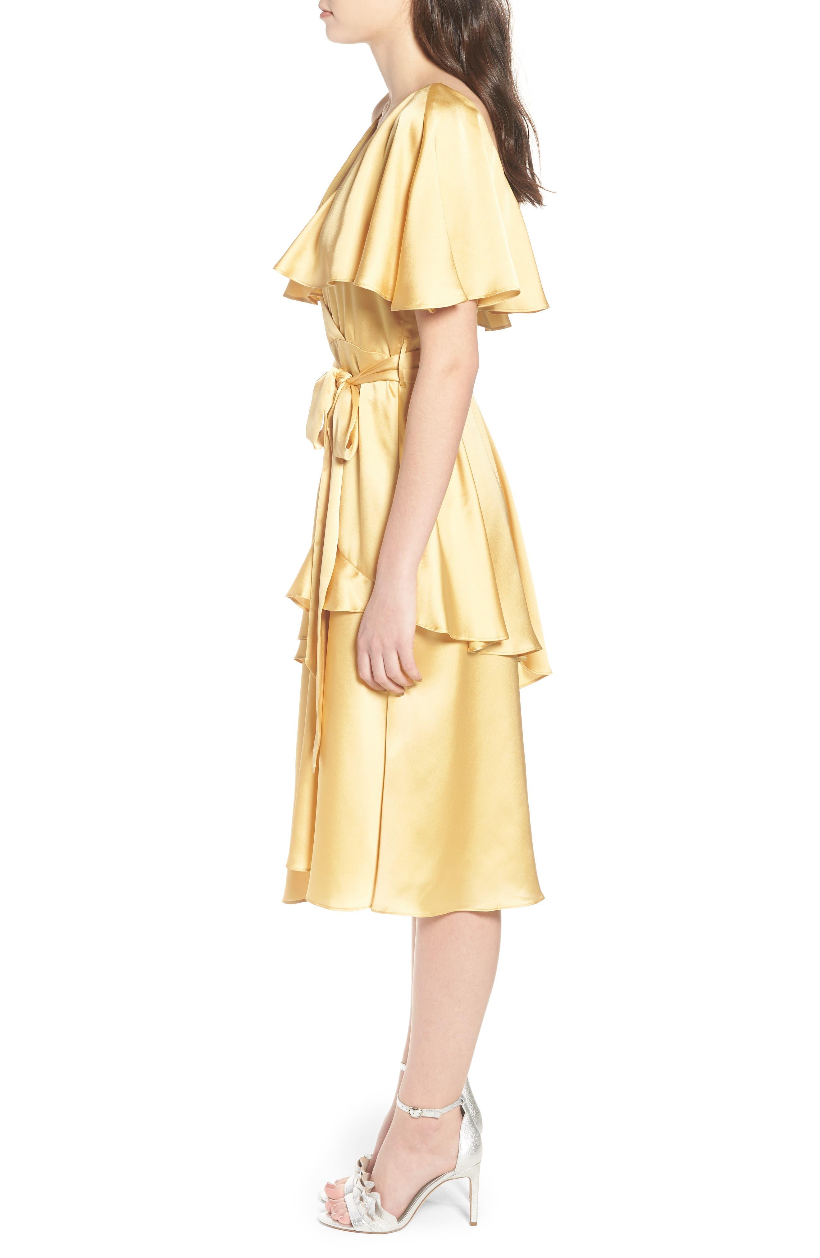 Deconstructed Tea Dress,                             Alternate thumbnail 4, color,