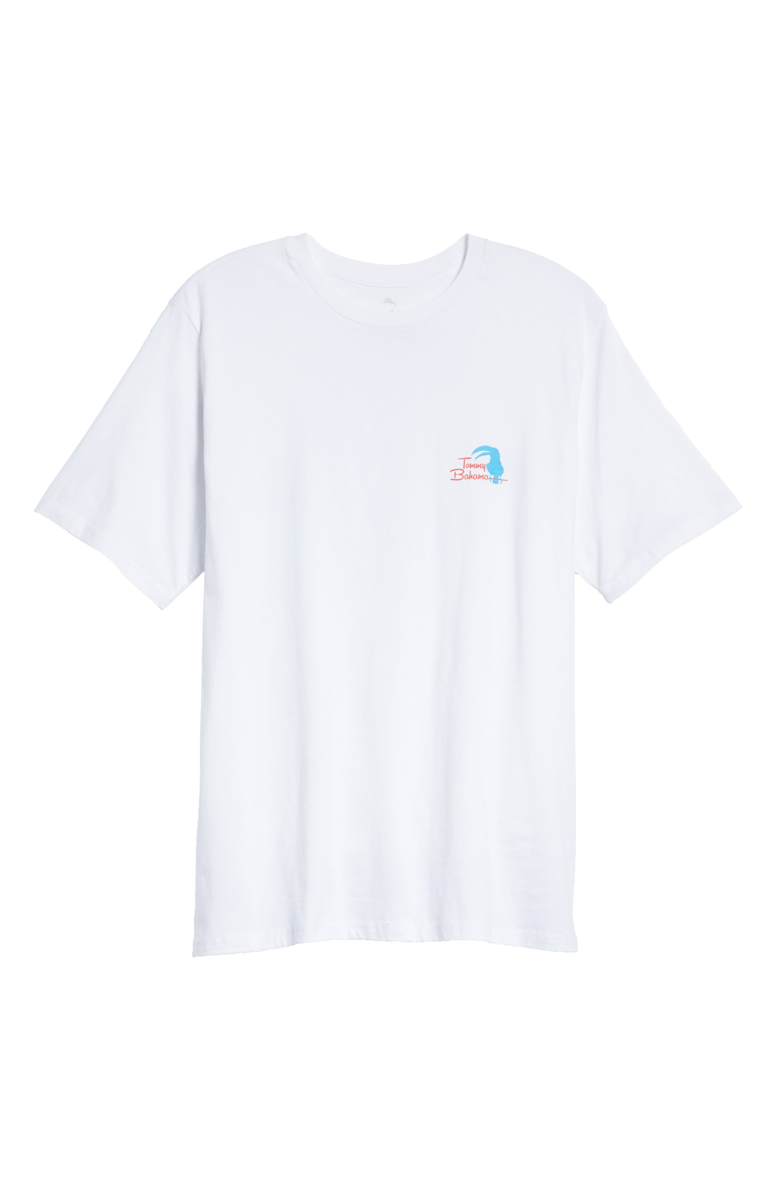 Let the Birds Do the Tweeting T-Shirt,                             Alternate thumbnail 6, color,                             WHITE