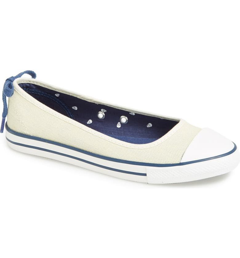 1ab0961f062645 Converse Chuck Taylor® All Star®  Dainty  Ballerina Flat Sneaker ...