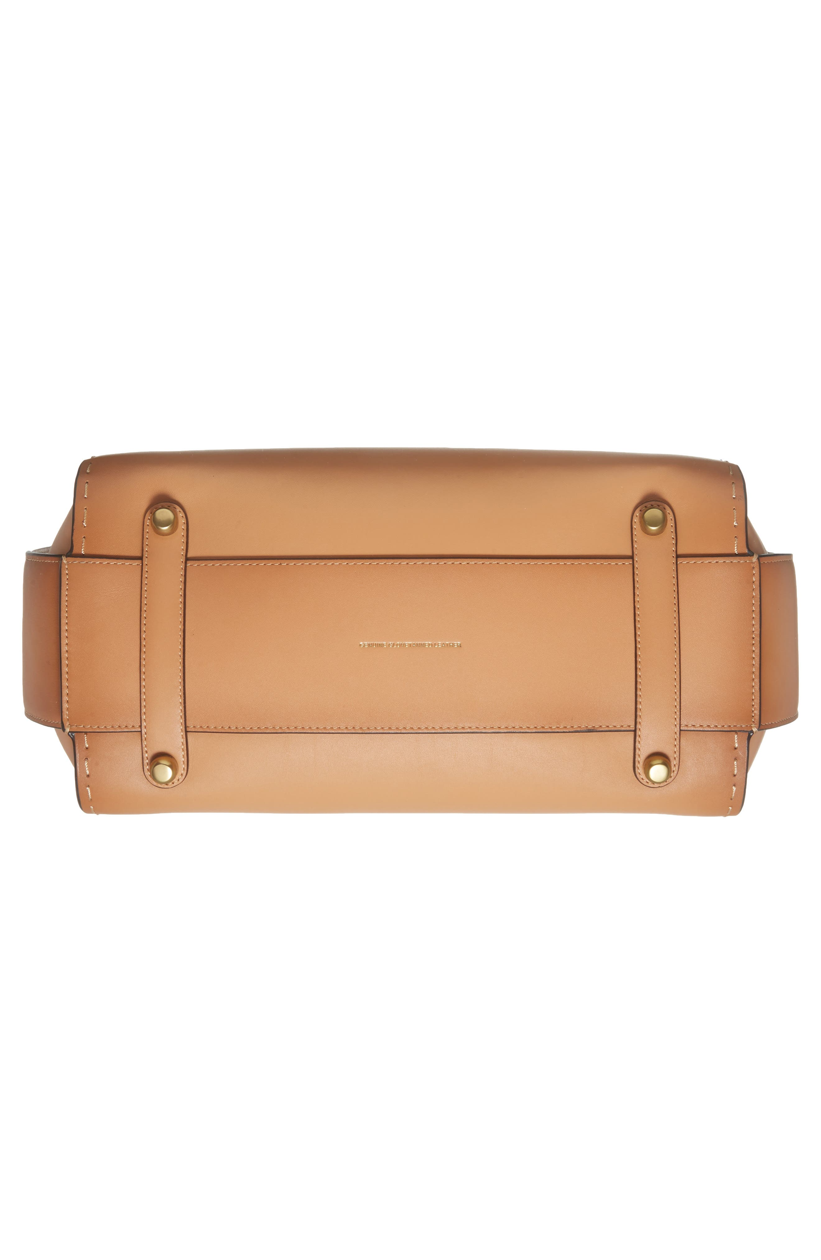 Double Swagger Leather Satchel,                             Alternate thumbnail 6, color,