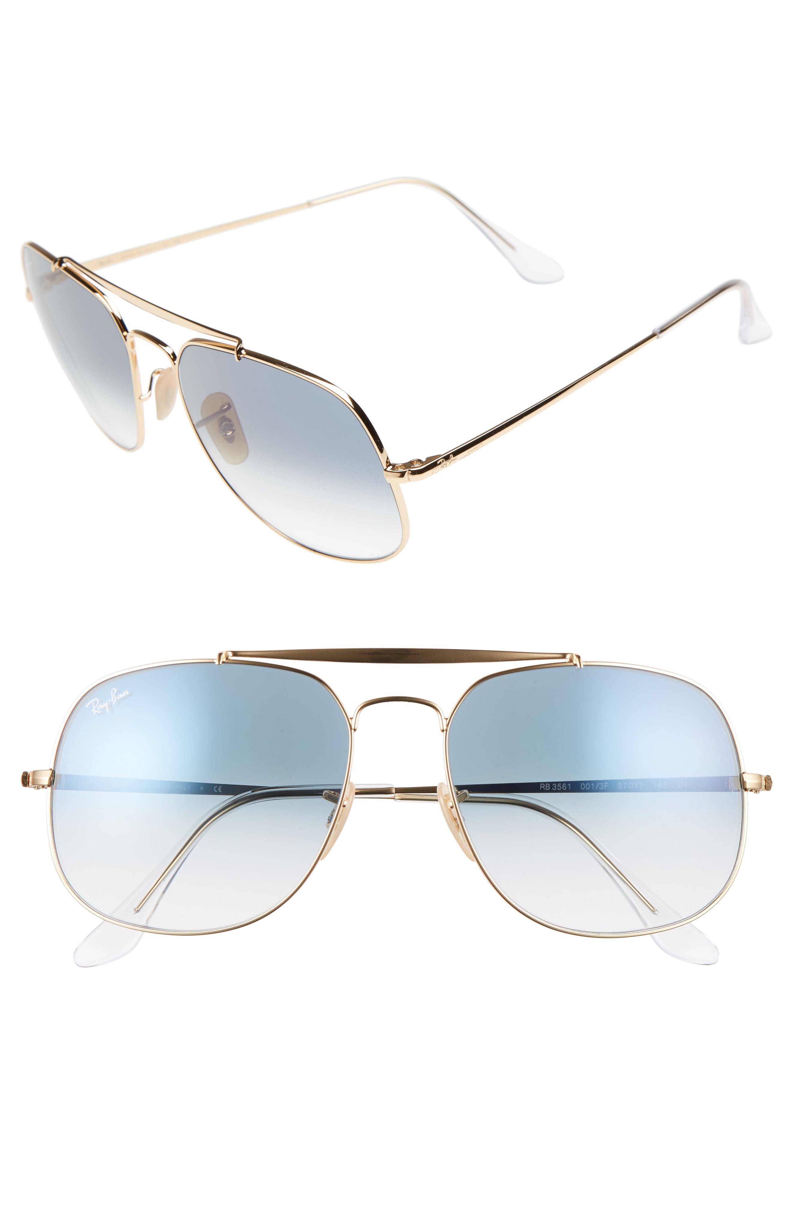 Ray-Ban 57Mm Navigator Sunglasses -