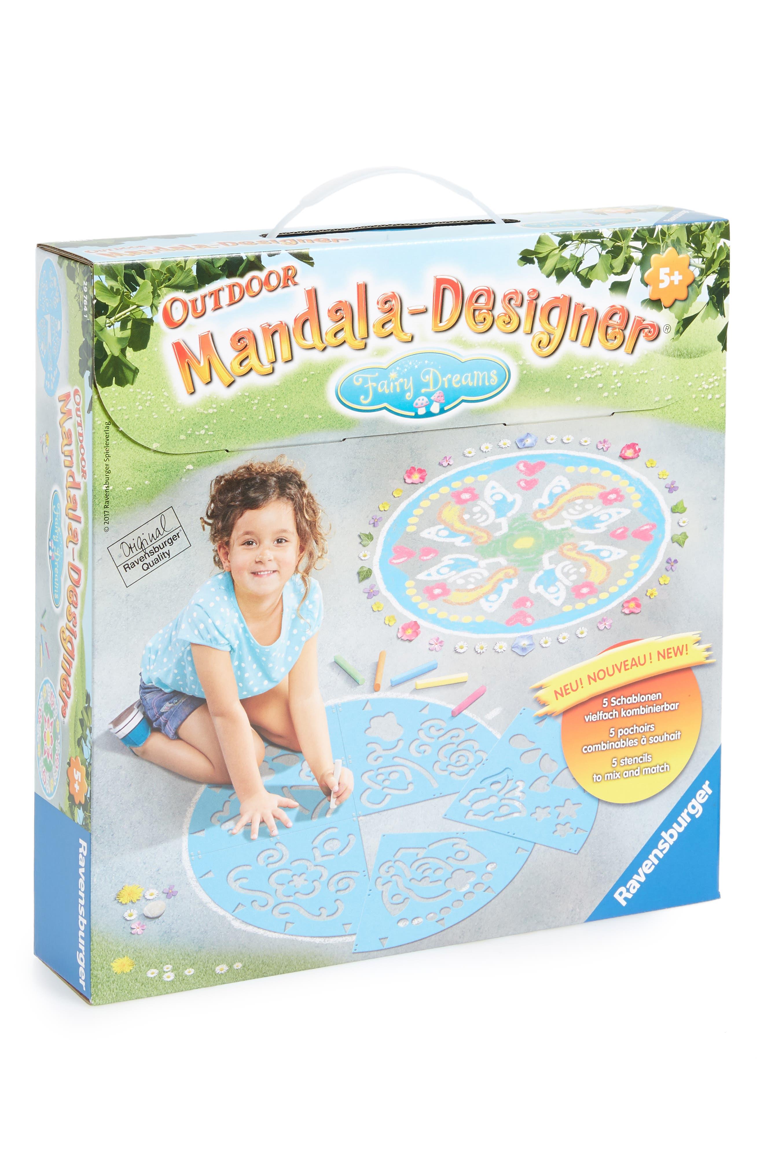 Outdoor Mandala Designer Fairy Dreams Chalk Kit,                             Main thumbnail 1, color,                             400