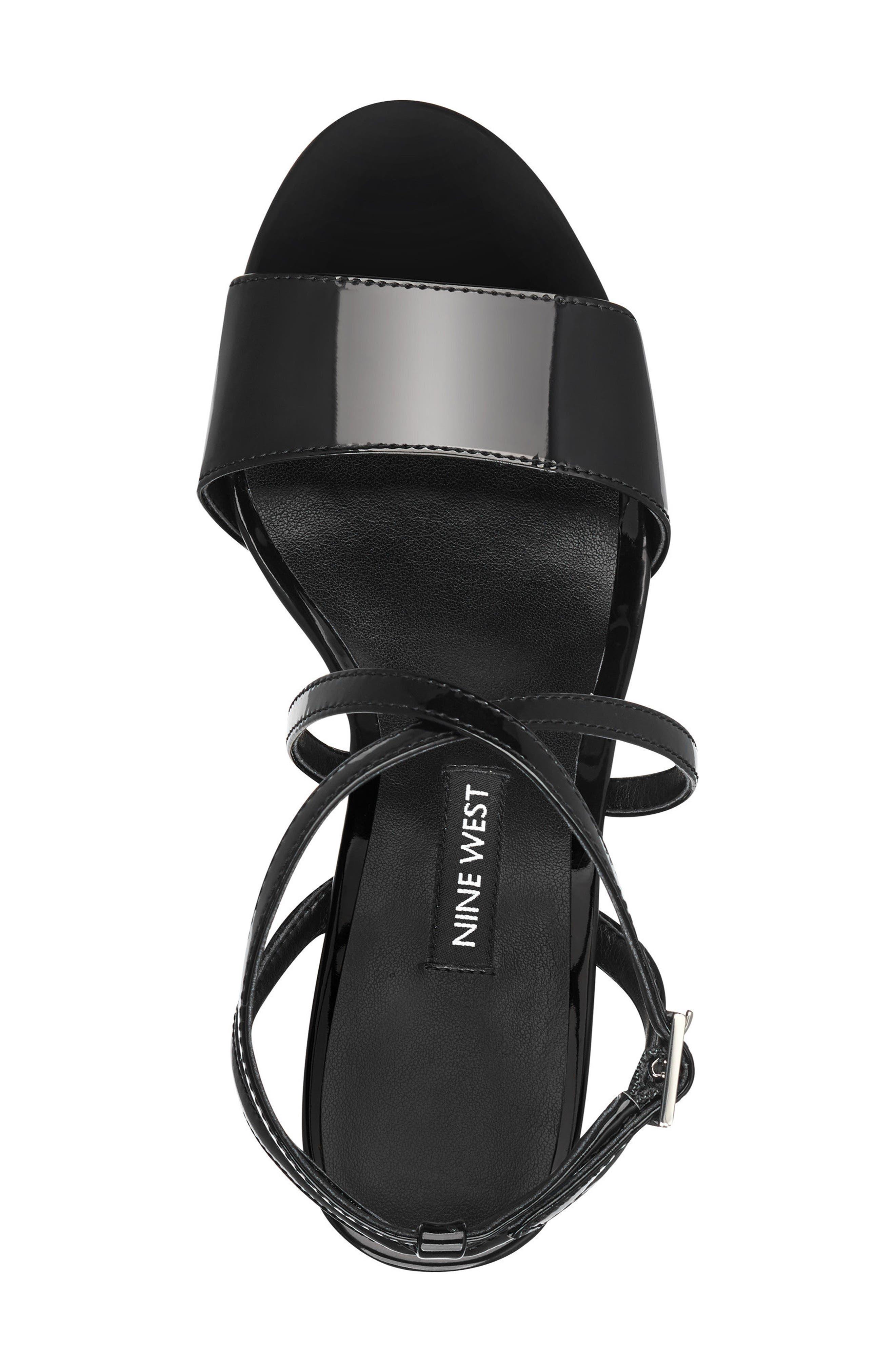 Markando Platform Sandal,                             Alternate thumbnail 5, color,                             001