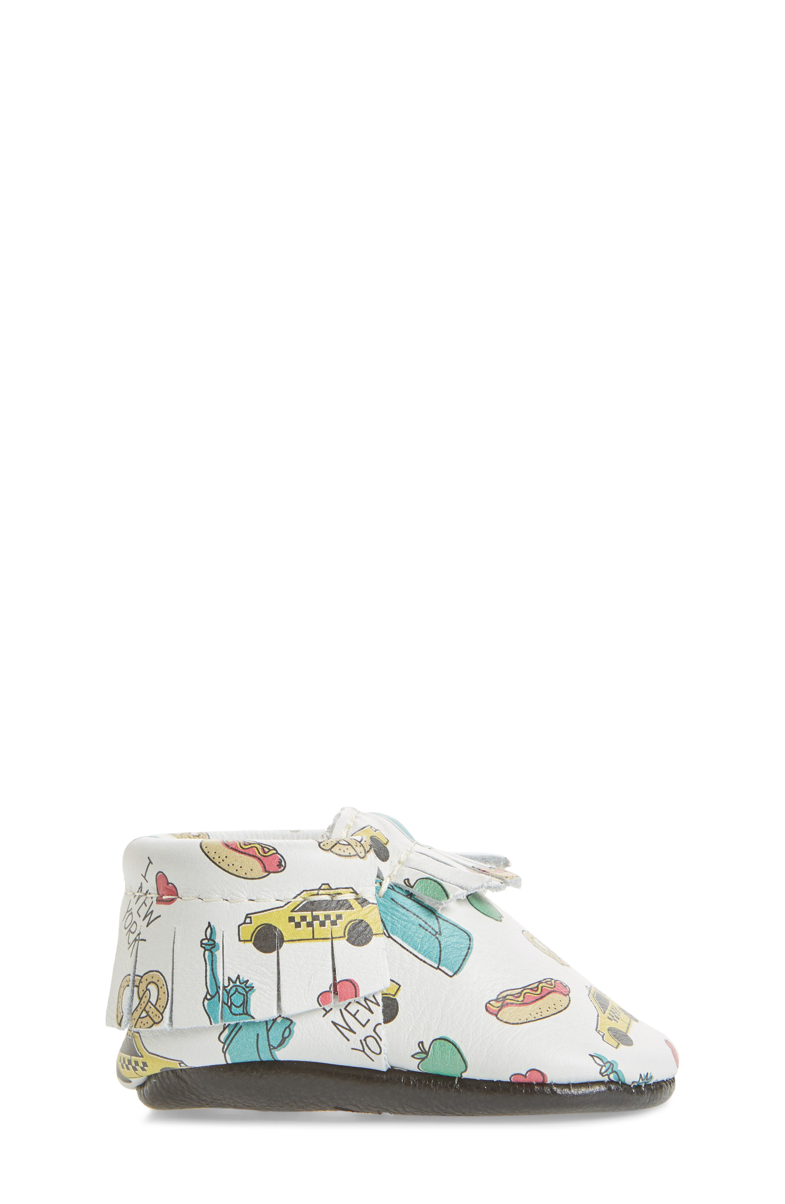 Big Apple Moccasin Bootie,                             Alternate thumbnail 3, color,                             PRINT LEATHER