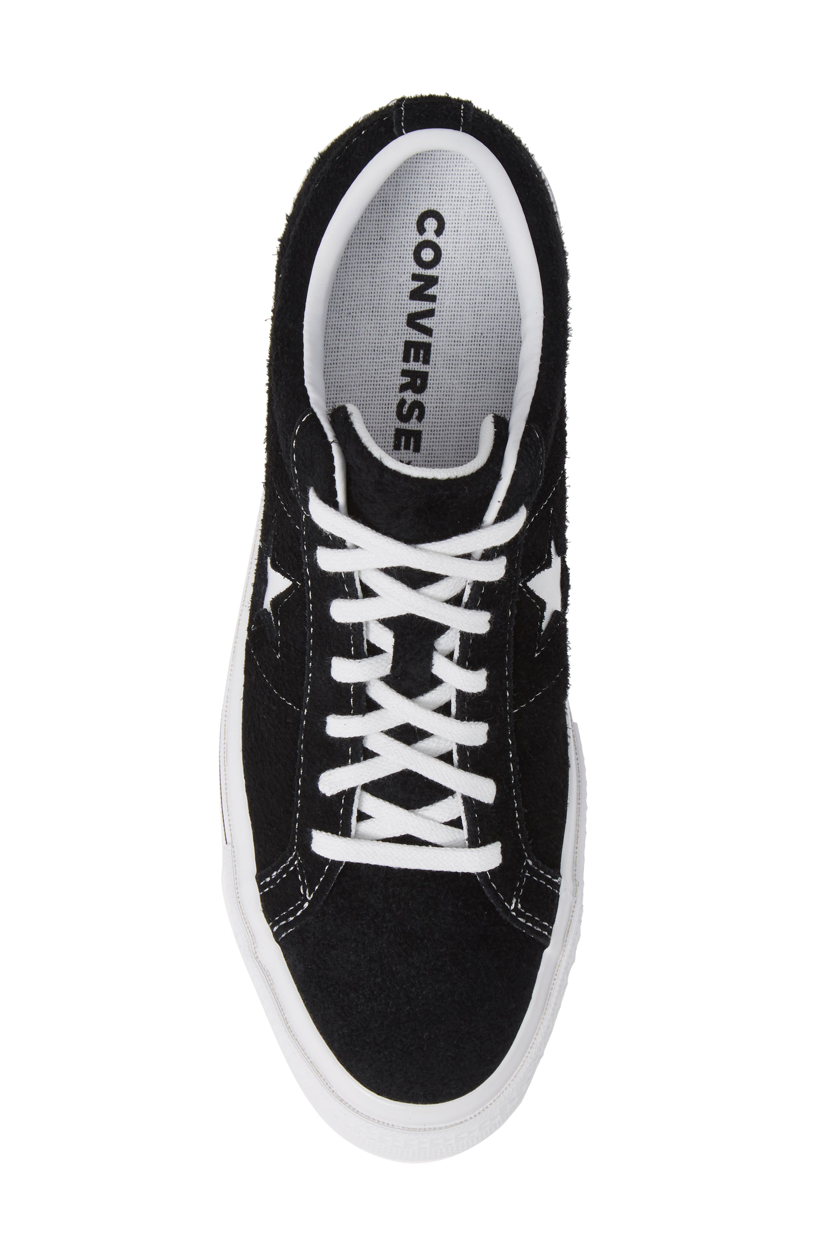 One Star Low Top Sneaker,                             Alternate thumbnail 5, color,                             MASON TEXTILE