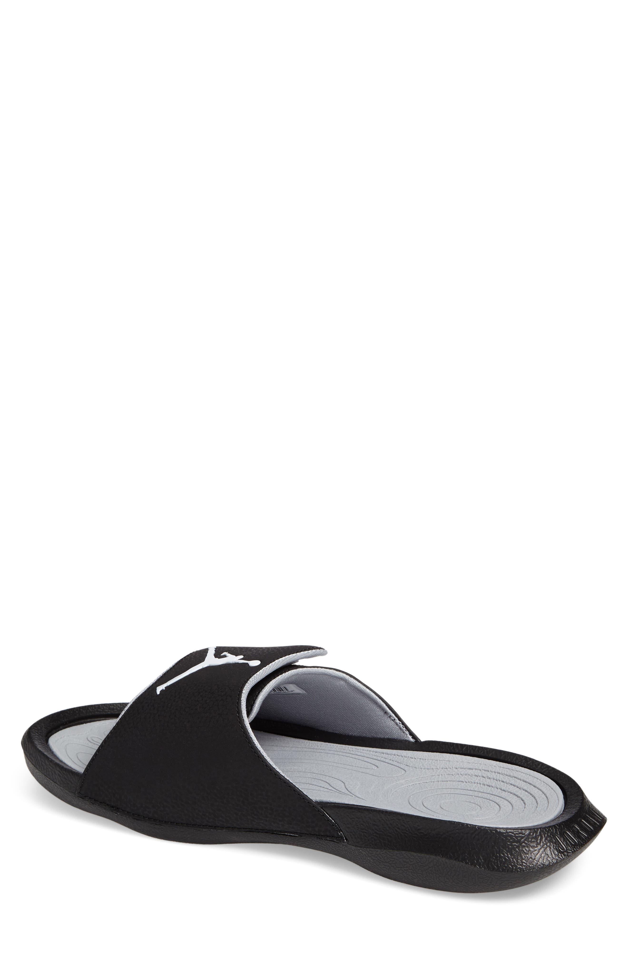 NIKE,                             Jordan Hydro 6 Slide Sandal,                             Alternate thumbnail 2, color,                             011