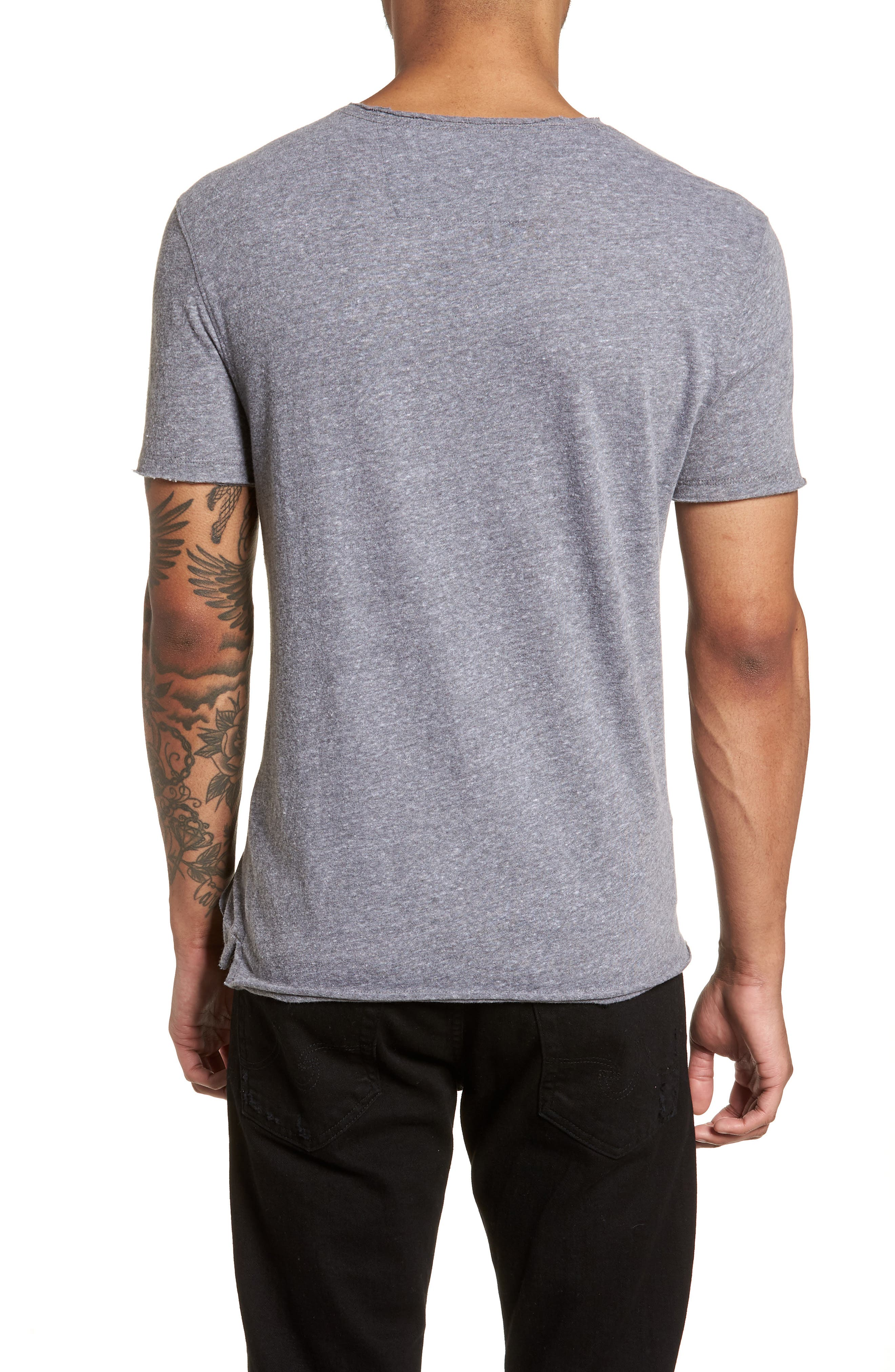 JOHN VARVATOS STAR USA,                             Let It Rock Regular Fit T-Shirt,                             Alternate thumbnail 2, color,                             073