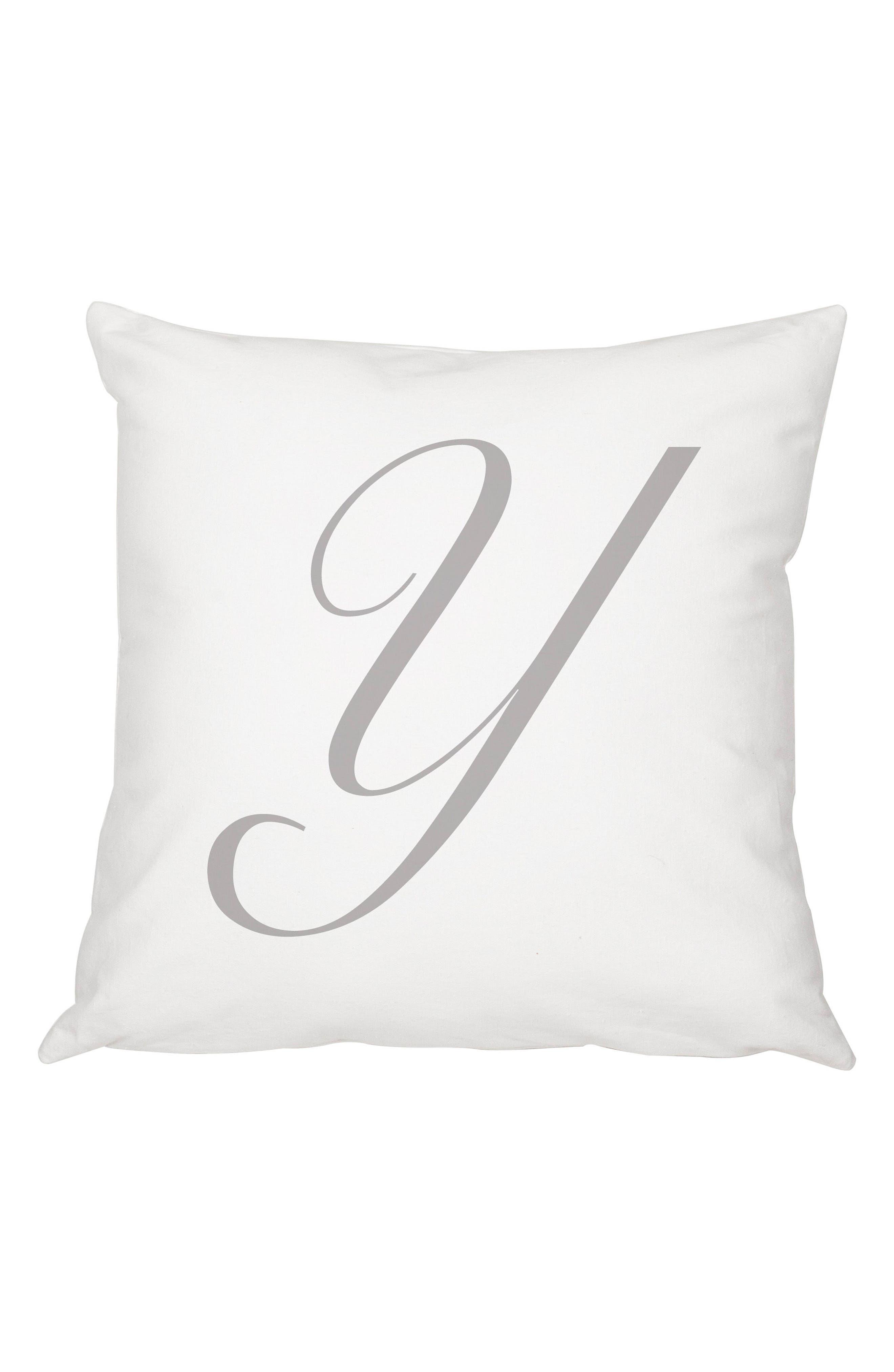 Script Monogram Accent Pillow,                             Main thumbnail 25, color,