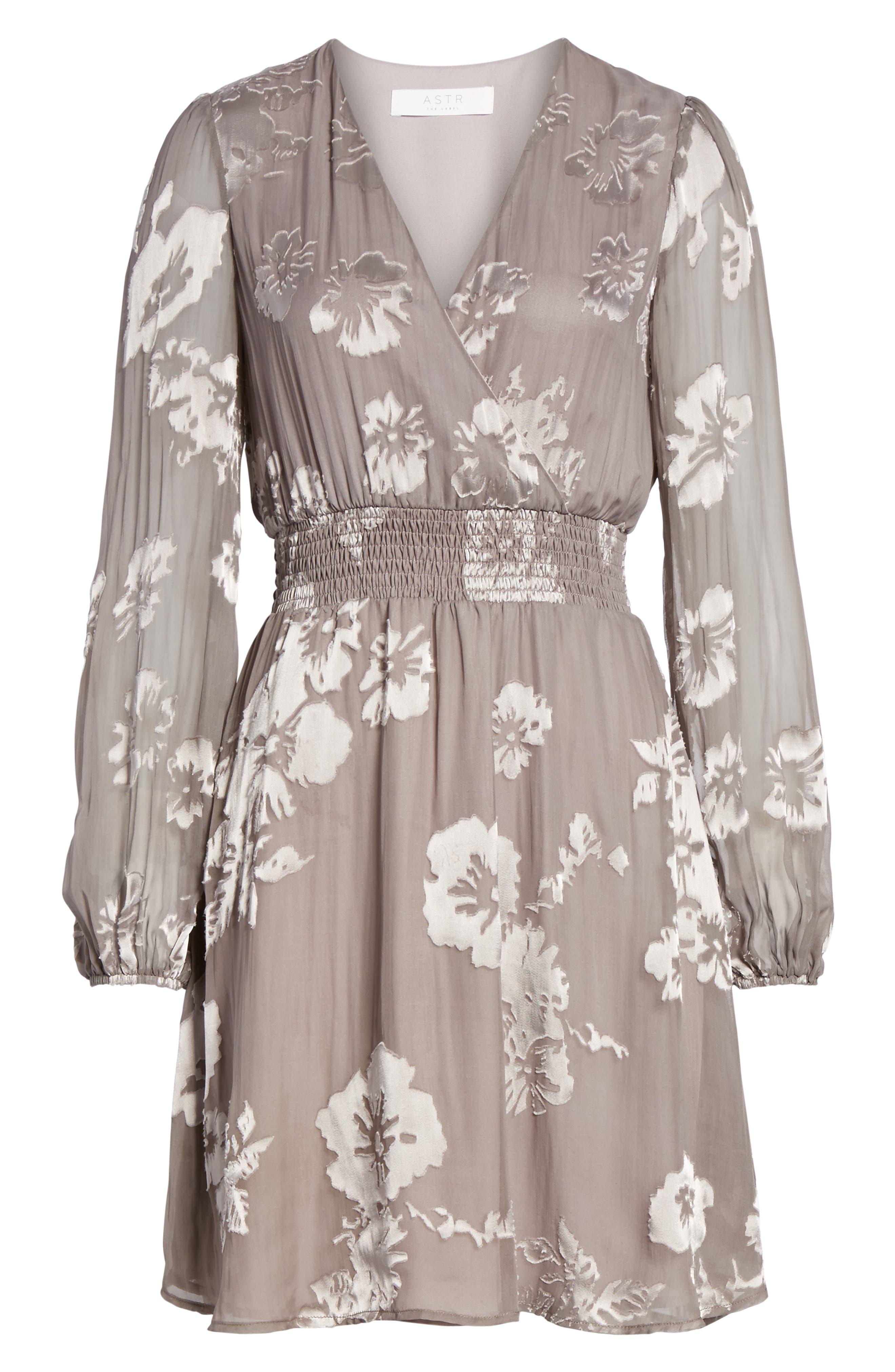 Mabeline Fit & Flare Dress,                             Alternate thumbnail 6, color,                             500