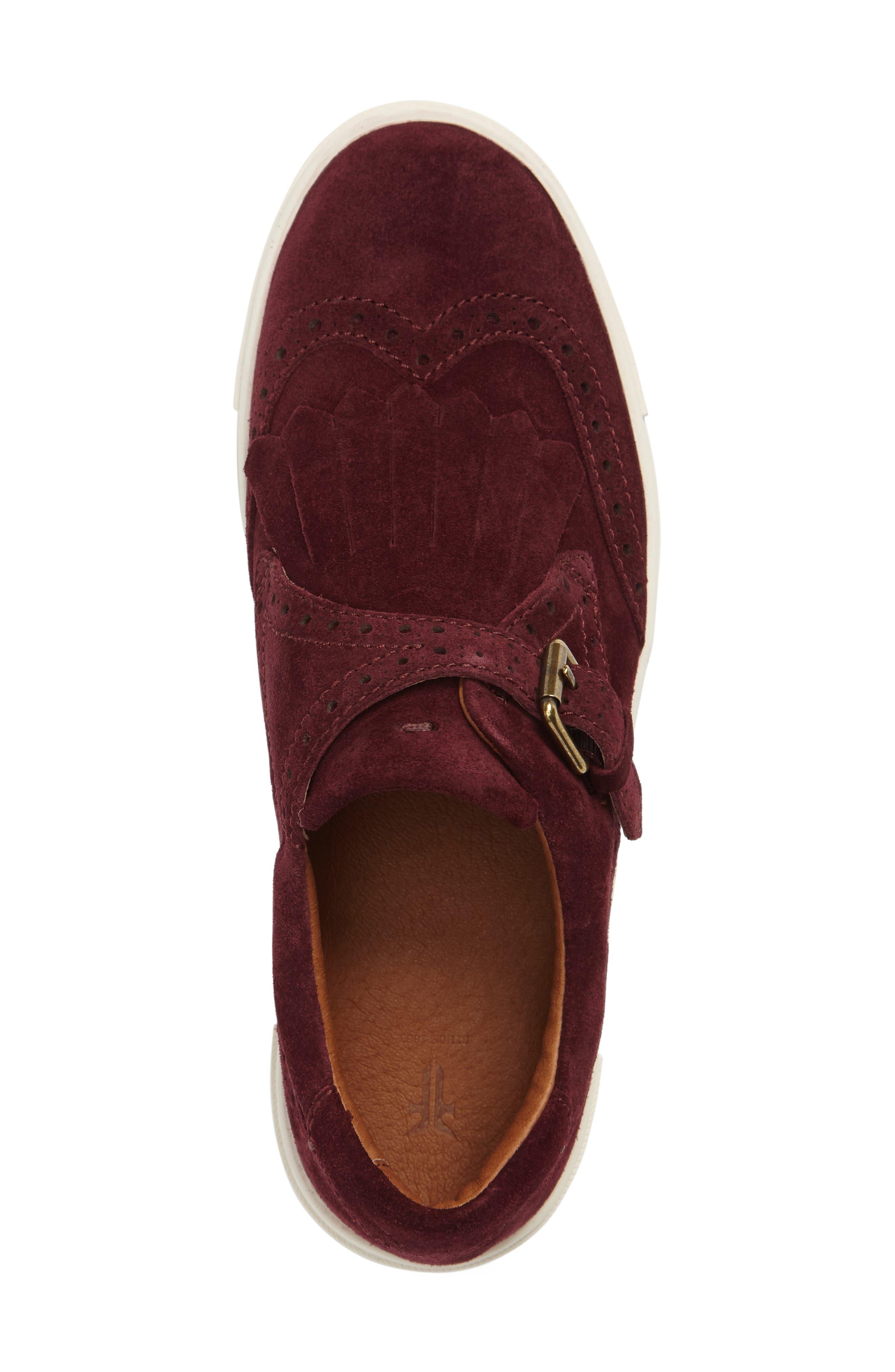'Gemma' Kiltie Slip On-Sneaker,                             Alternate thumbnail 16, color,